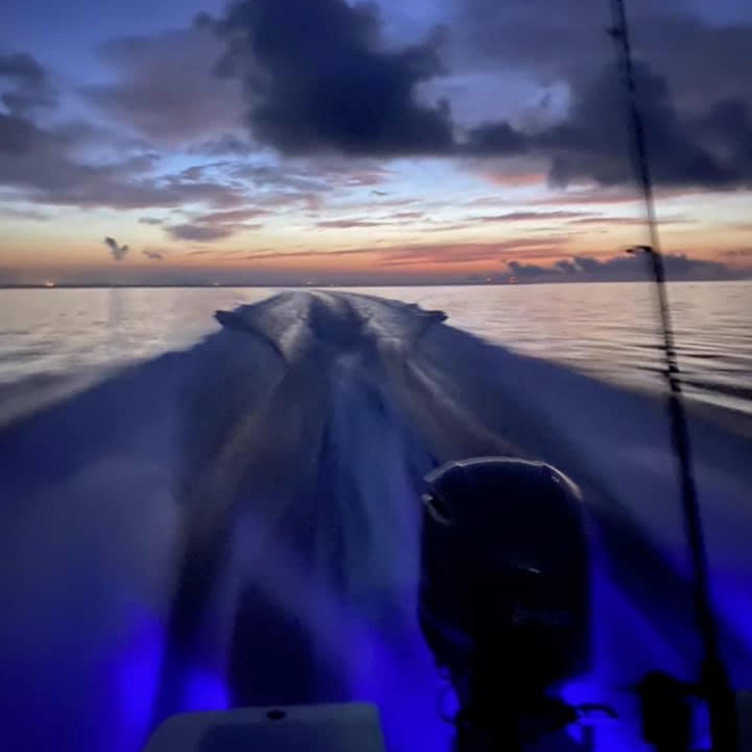 Title: Early morning run - On board their Sportsman Masters 227 Bay Boat - Location: Dauphin Island, AL. Participating in the Photo Contest #SportsmanAugust2020