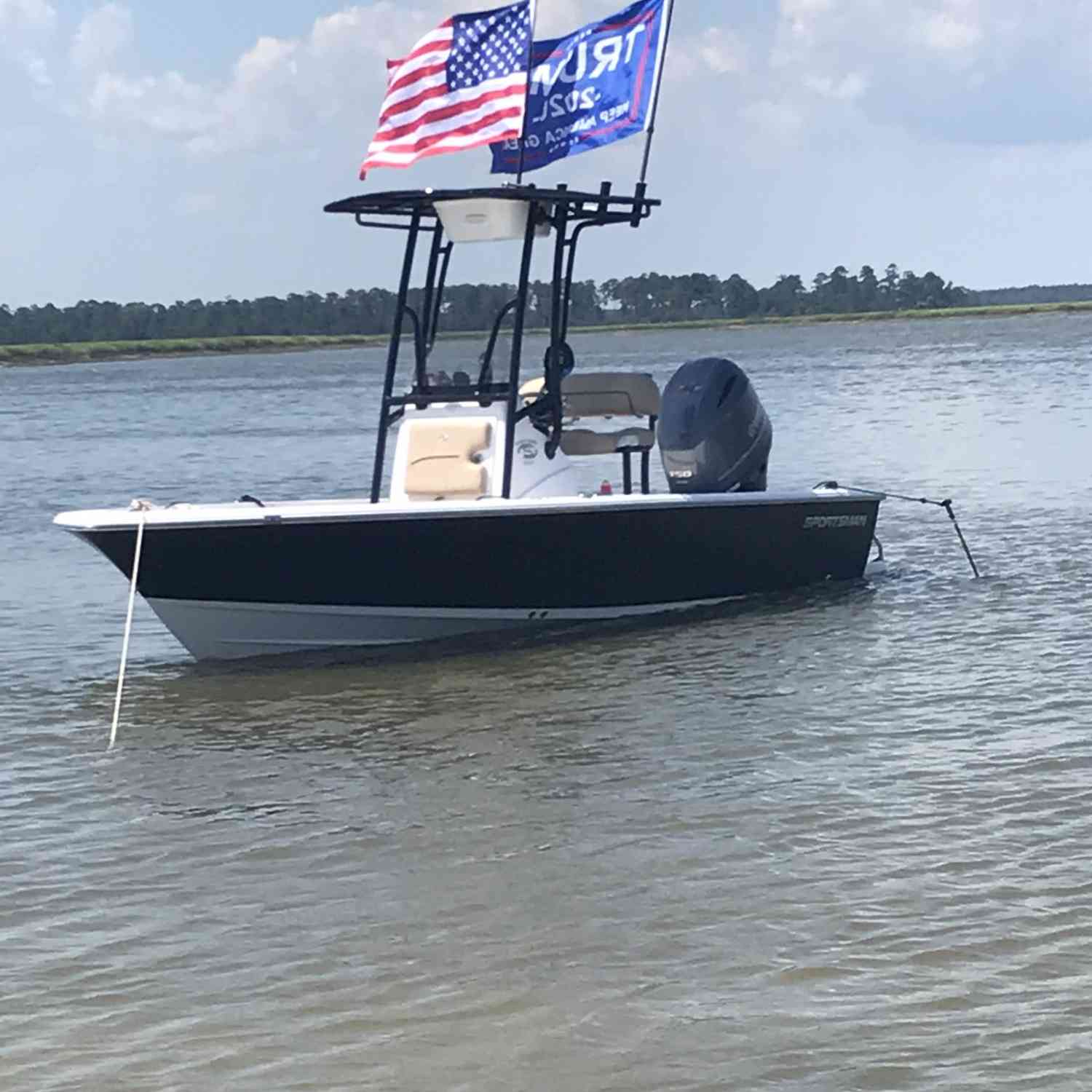 Title: Masters - On board their Sportsman Masters 207 Bay Boat - Location: Beaufort, South Carolina. Participating in the Photo Contest #SportsmanAugust2020