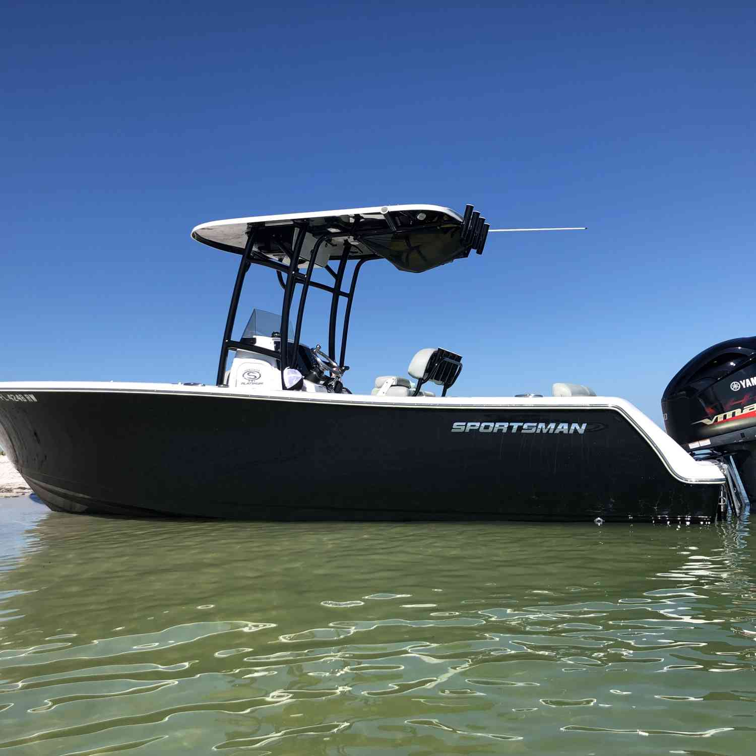 Title: 2019 Sportsman 231 - On board their Sportsman Heritage 231 Center Console - Location: Naples, Florida. Participating in the Photo Contest #SportsmanAugust2020