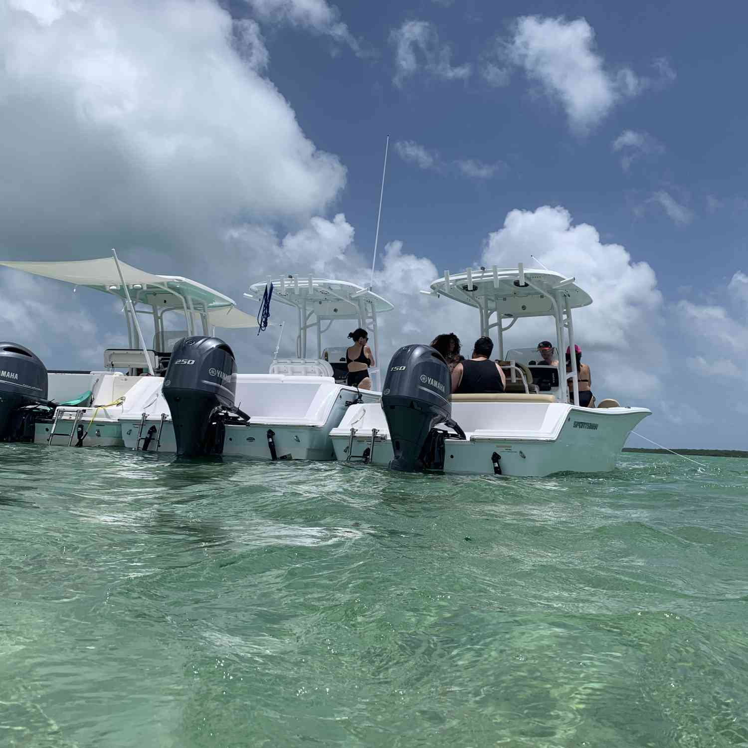 Title: The calm before the storm - On board their Sportsman Heritage 231 Center Console - Location: Elliot key. Participating in the Photo Contest #SportsmanAugust2020