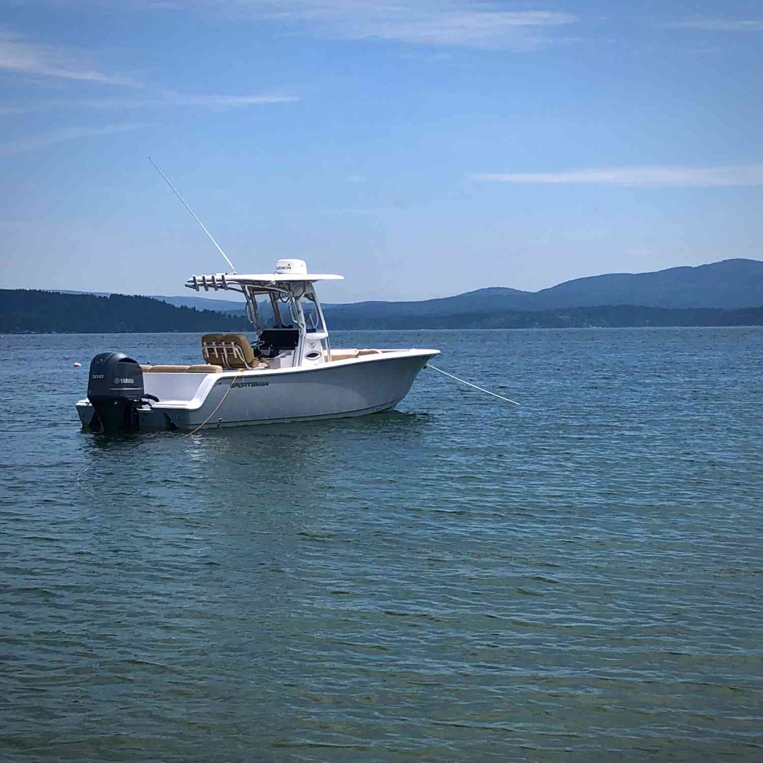 Title: Acadia summer - On board their Sportsman Heritage 241 Center Console - Location: Long Island, Blue Hill bay, Maine. Participating in the Photo Contest #SportsmanAugust2020
