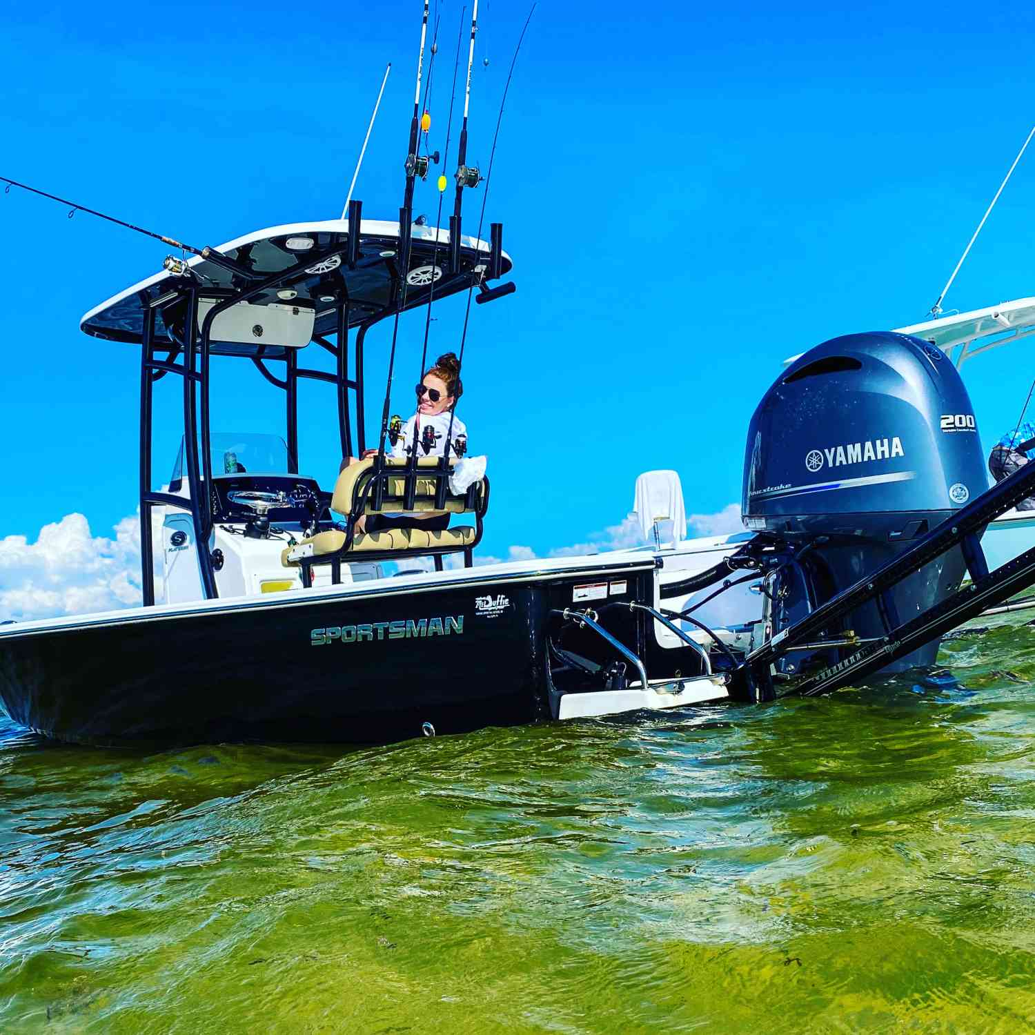 Title: The doit all boat - On board their Sportsman Masters 227 Bay Boat - Location: Gulf of Mexico. Participating in the Photo Contest #SportsmanDecember2020