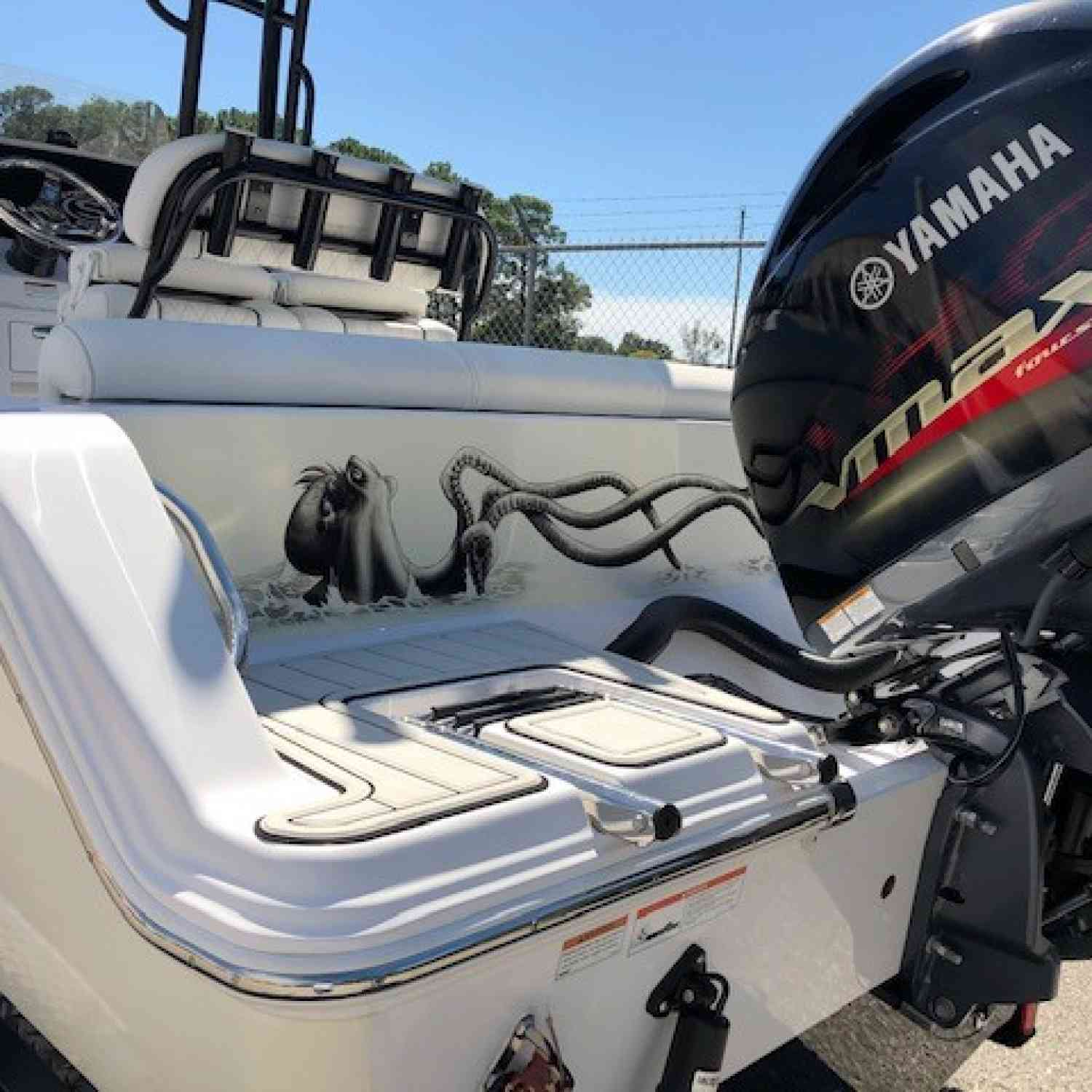Title: Prepped and ready! - On board their Sportsman Heritage 211 Center Console - Location: St Augustine, Fl.. Participating in the Photo Contest #SportsmanDecember2020