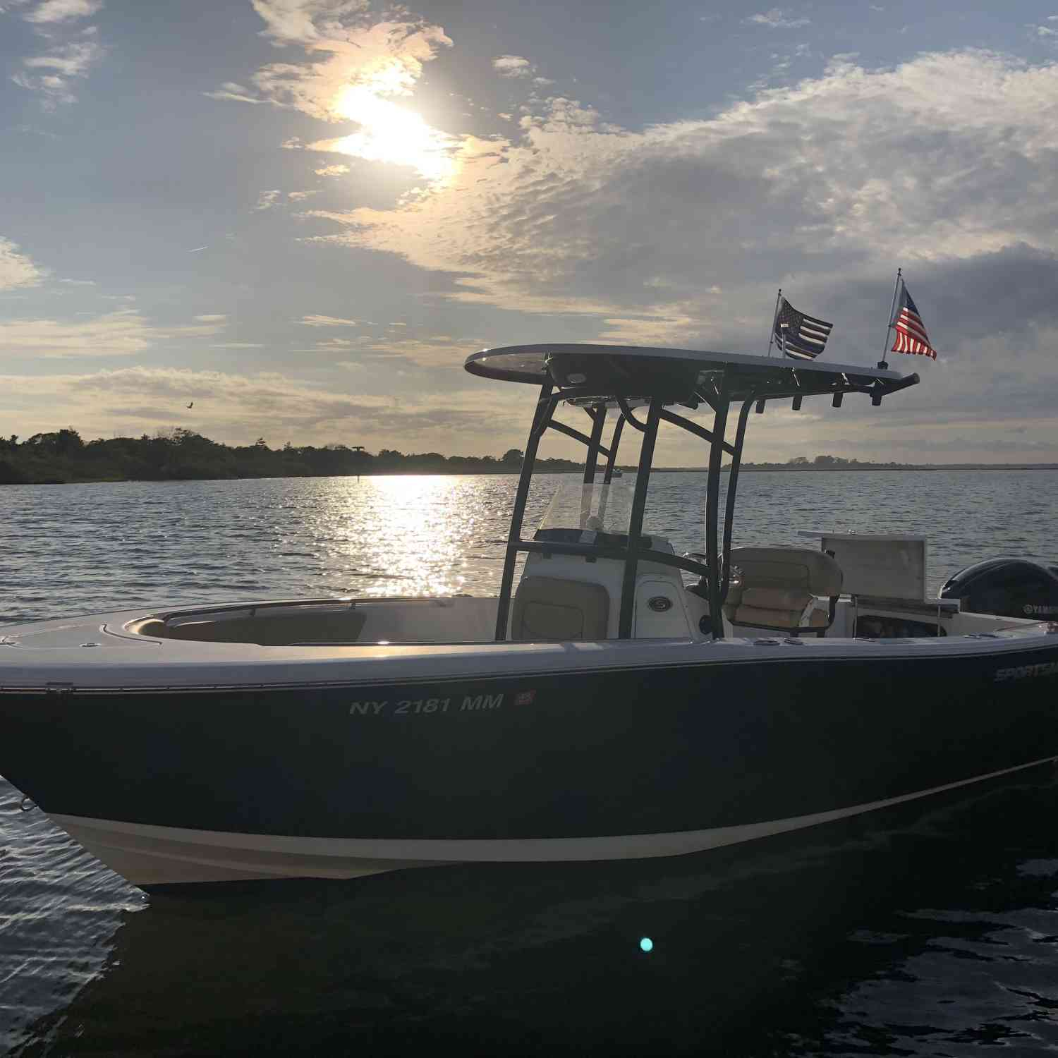 Title: My happy place - On board their Sportsman Heritage 231 Center Console - Location: Babylon NY. Participating in the Photo Contest #SportsmanFebruary2020