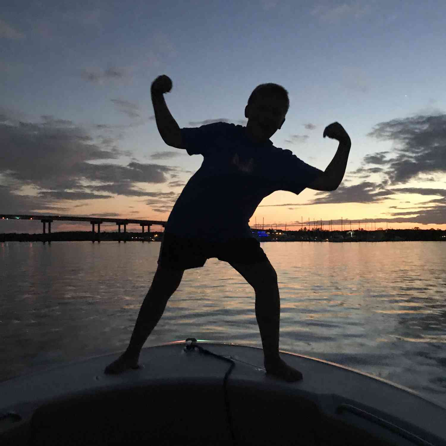 Title: #SBO fun - On board their Sportsman Heritage 231 Center Console - Location: John Island , SC. Participating in the Photo Contest #SportsmanJanuary2020