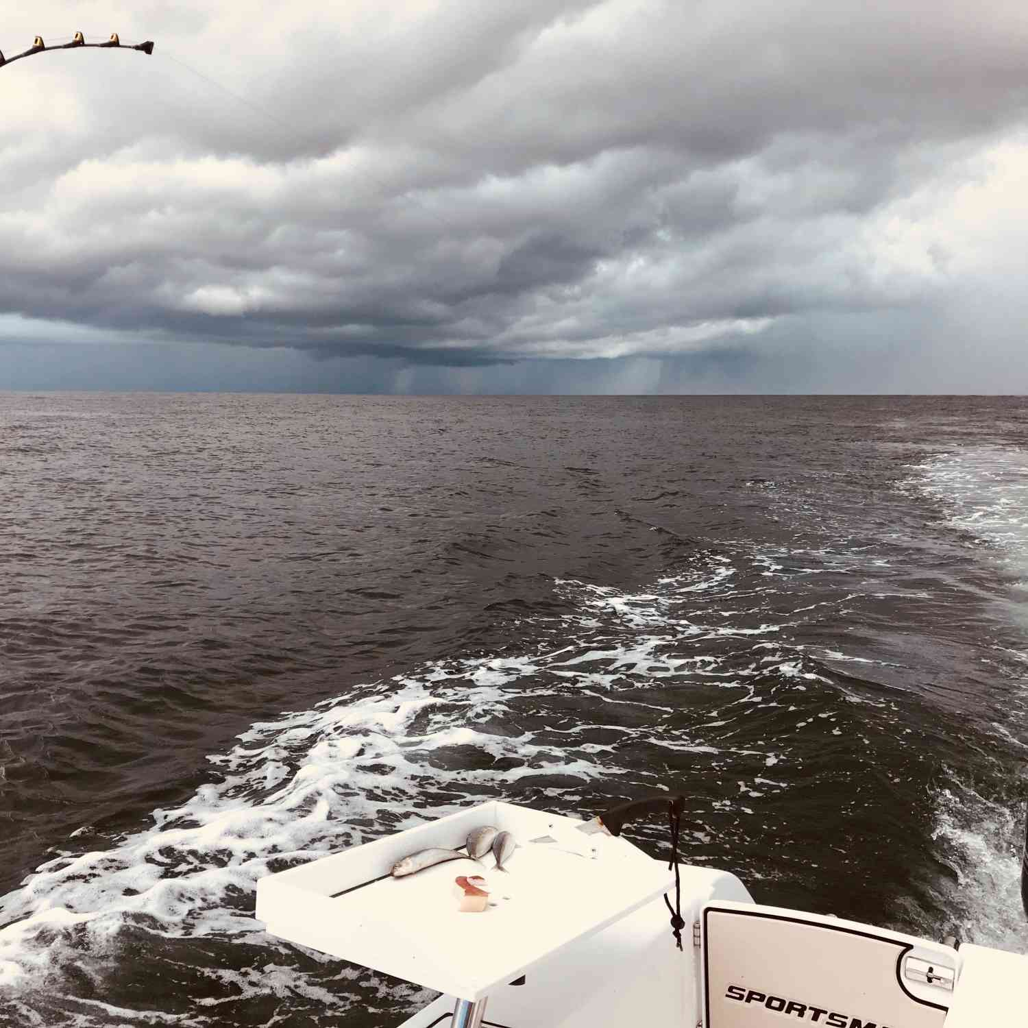 Title: Systems colliding - On board their Sportsman Open 252 Center Console - Location: Destin, Florida. Participating in the Photo Contest #SportsmanJanuary2020