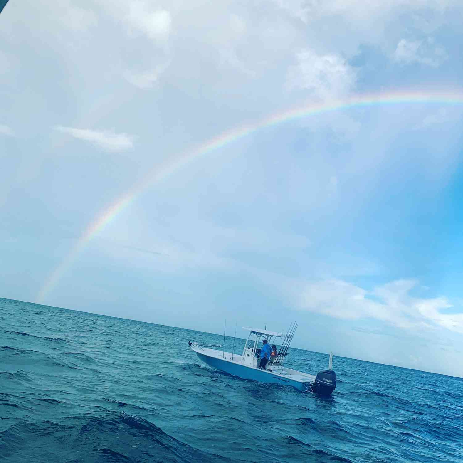 Title: Team Salty Swallow - On board their Sportsman Masters 247 Bay Boat - Location: Marathon, Florida Keys. Participating in the Photo Contest #SportsmanJanuary2020