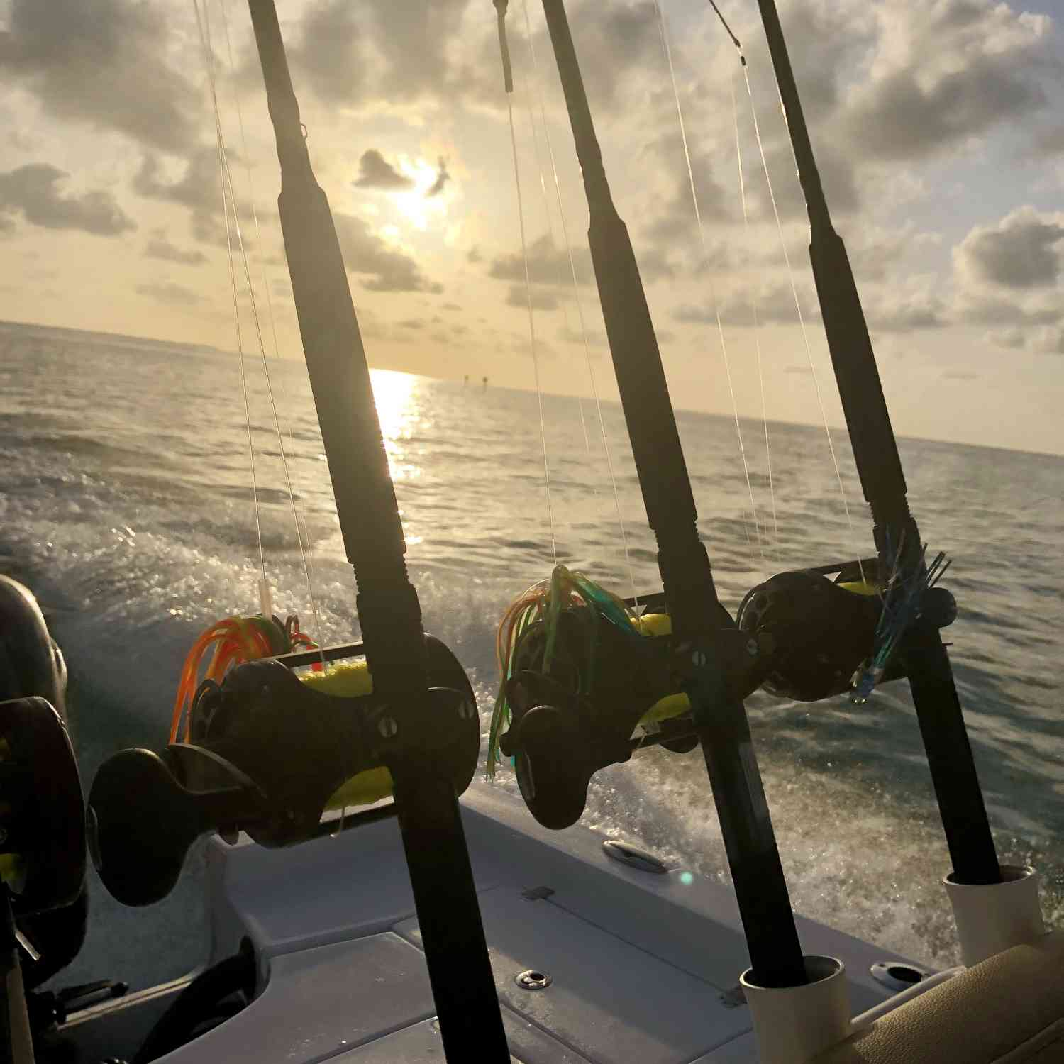 Title: Good Morning Marathon!! - On board their Sportsman Masters 247 Bay Boat - Location: Marathon, FL. Participating in the Photo Contest #SportsmanJanuary2020
