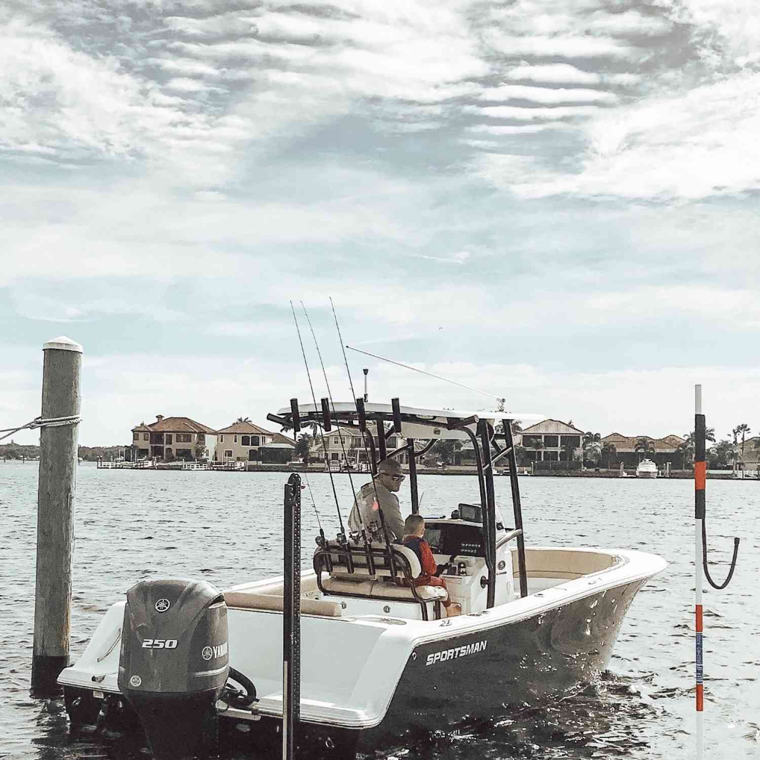 Title: Saturday's are for the Boys! - On board their Sportsman Open 232 Center Console - Location: Sarasota, FL. Participating in the Photo Contest #SportsmanJanuary2020