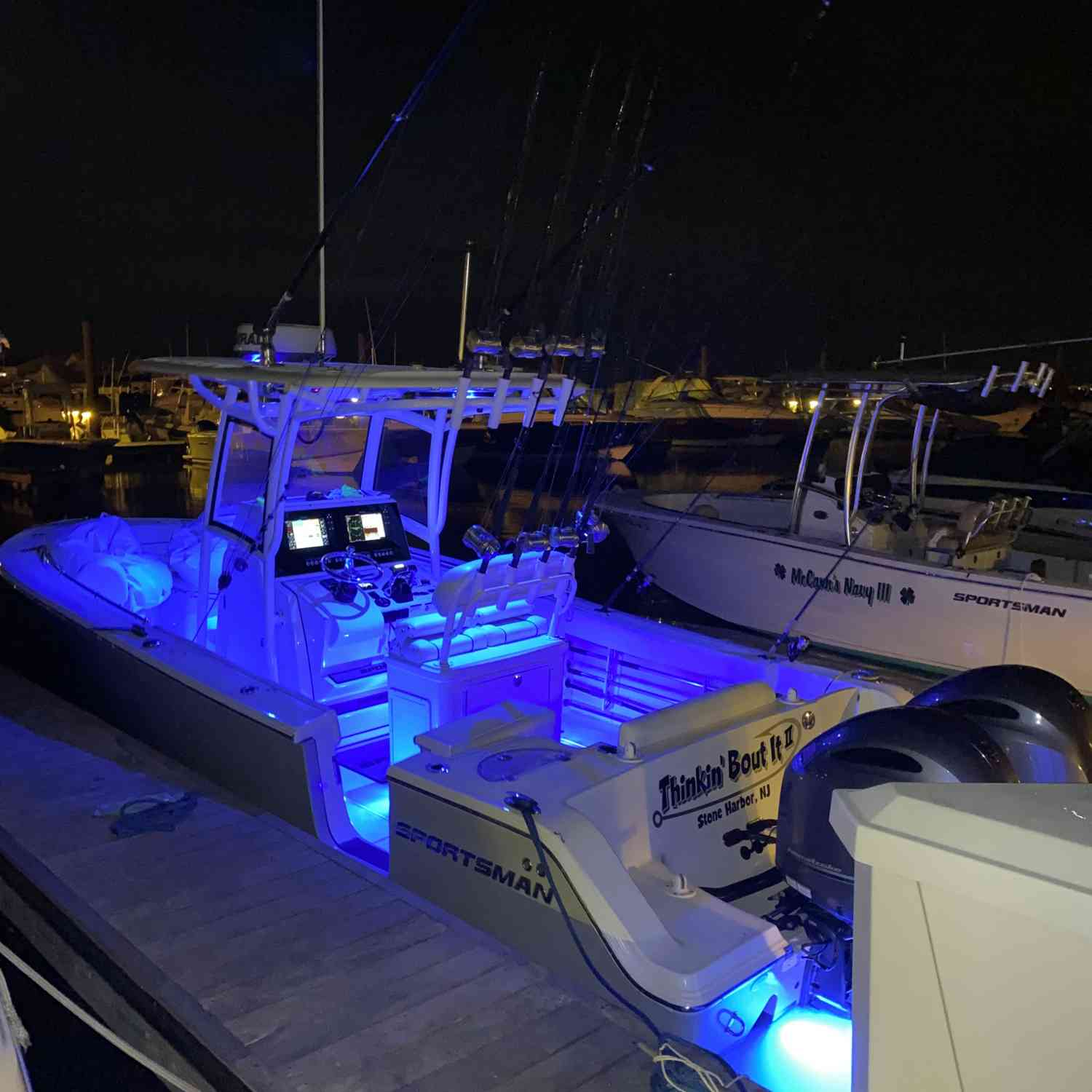 Title: Time to go deep - On board their Sportsman Open 252 Center Console - Location: Stone Harbor Marina. Participating in the Photo Contest #SportsmanJuly2020