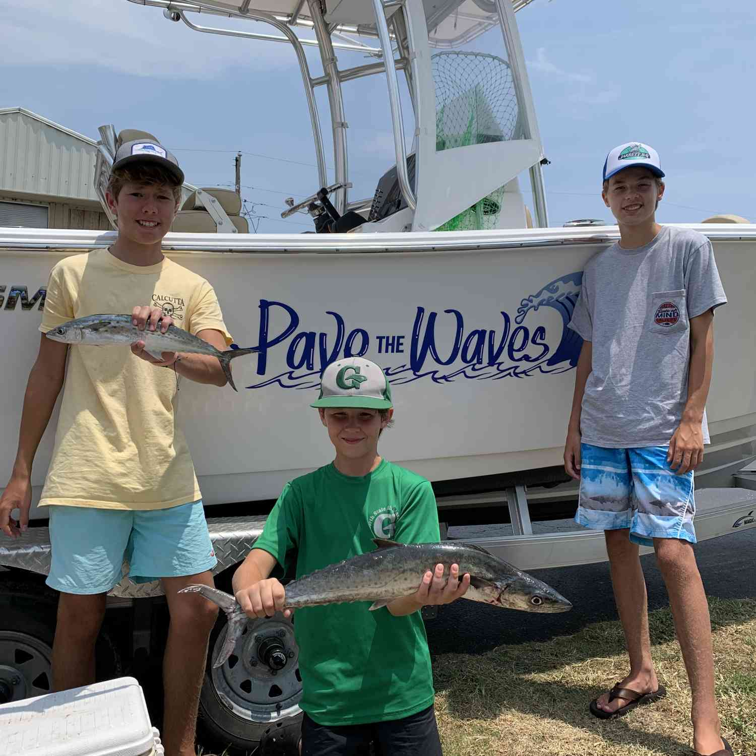 Title: A better day - On board their Sportsman Heritage 211 Center Console - Location: Indian Beach, NC. Participating in the Photo Contest #SportsmanJuly2020