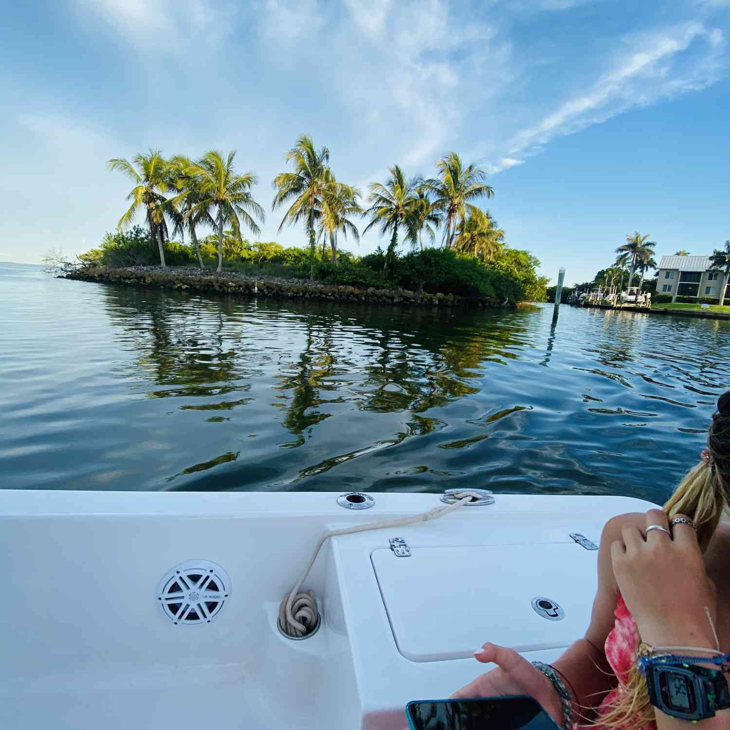 Title: Slice of Paradise - On board their Sportsman Tournament 234 Bay Boat - Location: Captiva Island. Participating in the Photo Contest #SportsmanJuly2020