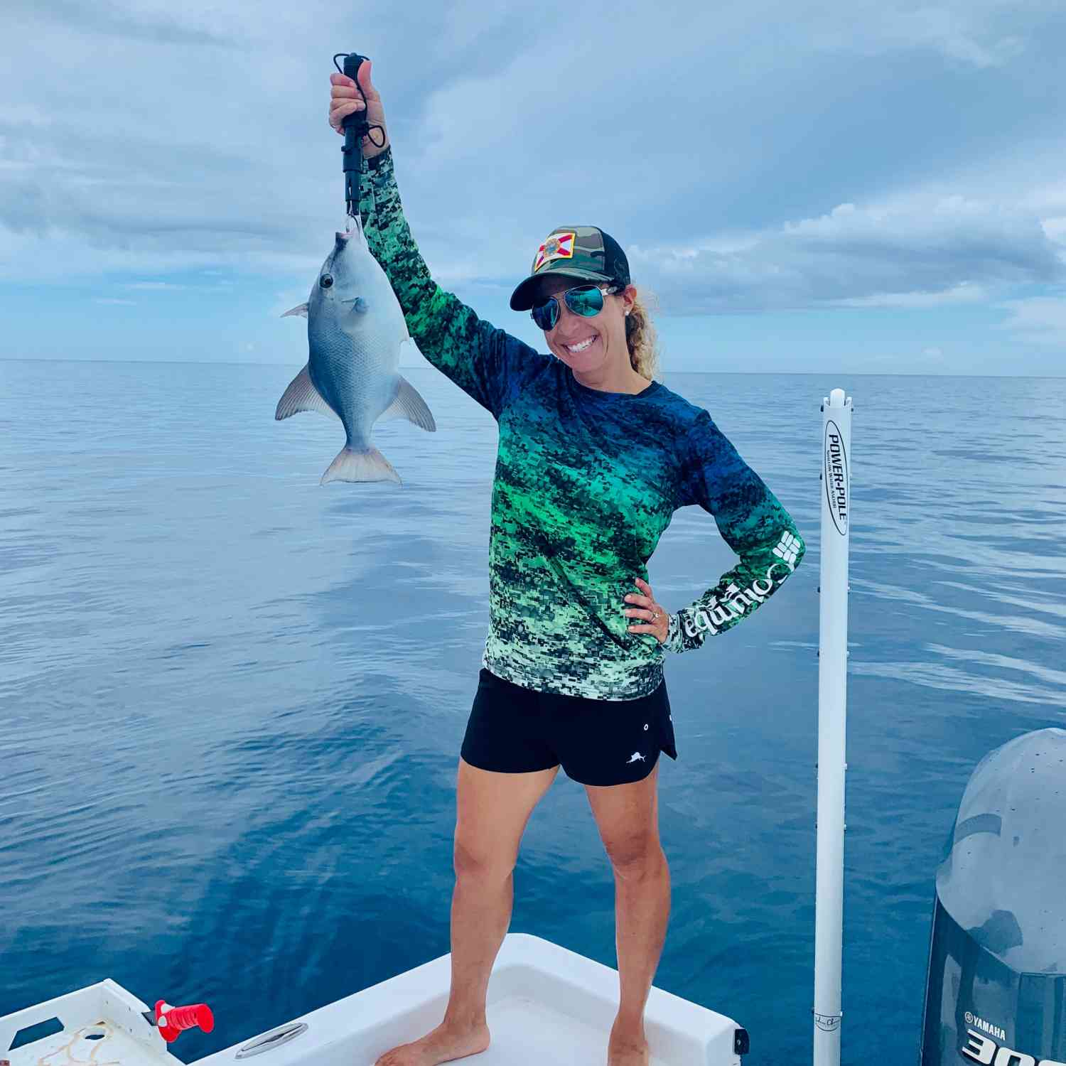 Title: Here Fishy fishy - On board their Sportsman Masters 227 Bay Boat - Location: Bimini, Bahamas. Participating in the Photo Contest #SportsmanJune2020