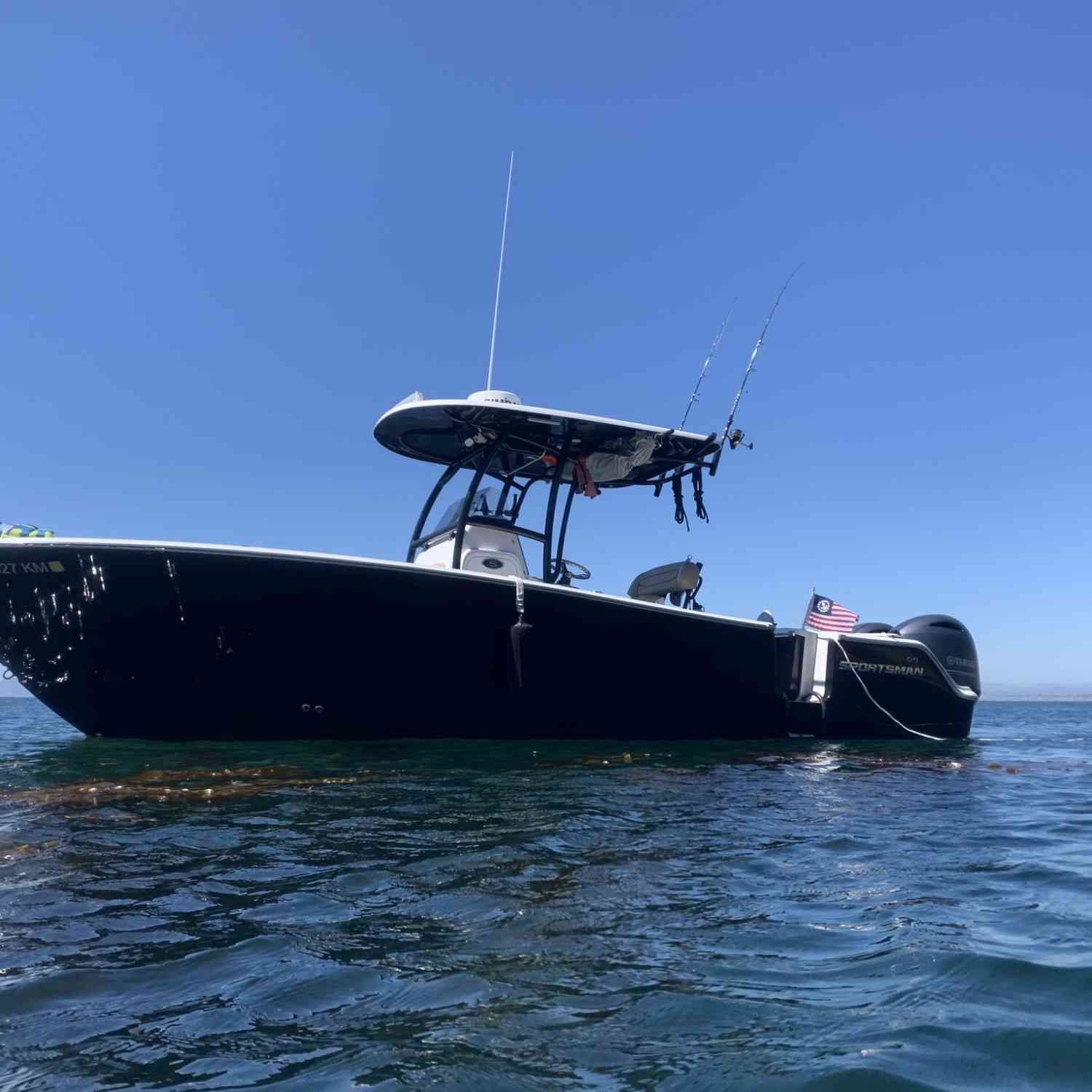 Title: Social distancing - On board their Sportsman Open 252 Center Console - Location: Lunada Bay, CA. Participating in the Photo Contest #SportsmanJune2020