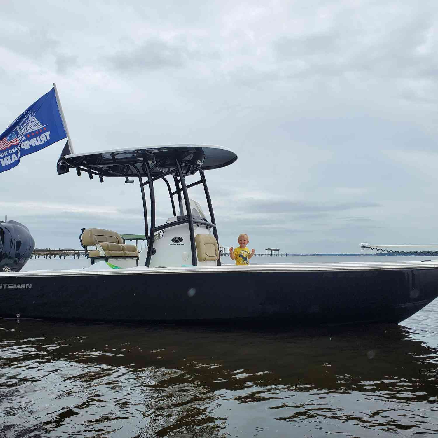 Title: Keepn it reel - On board their Sportsman Masters 227 Bay Boat - Location: Green cove, fl. Participating in the Photo Contest #SportsmanJune2020