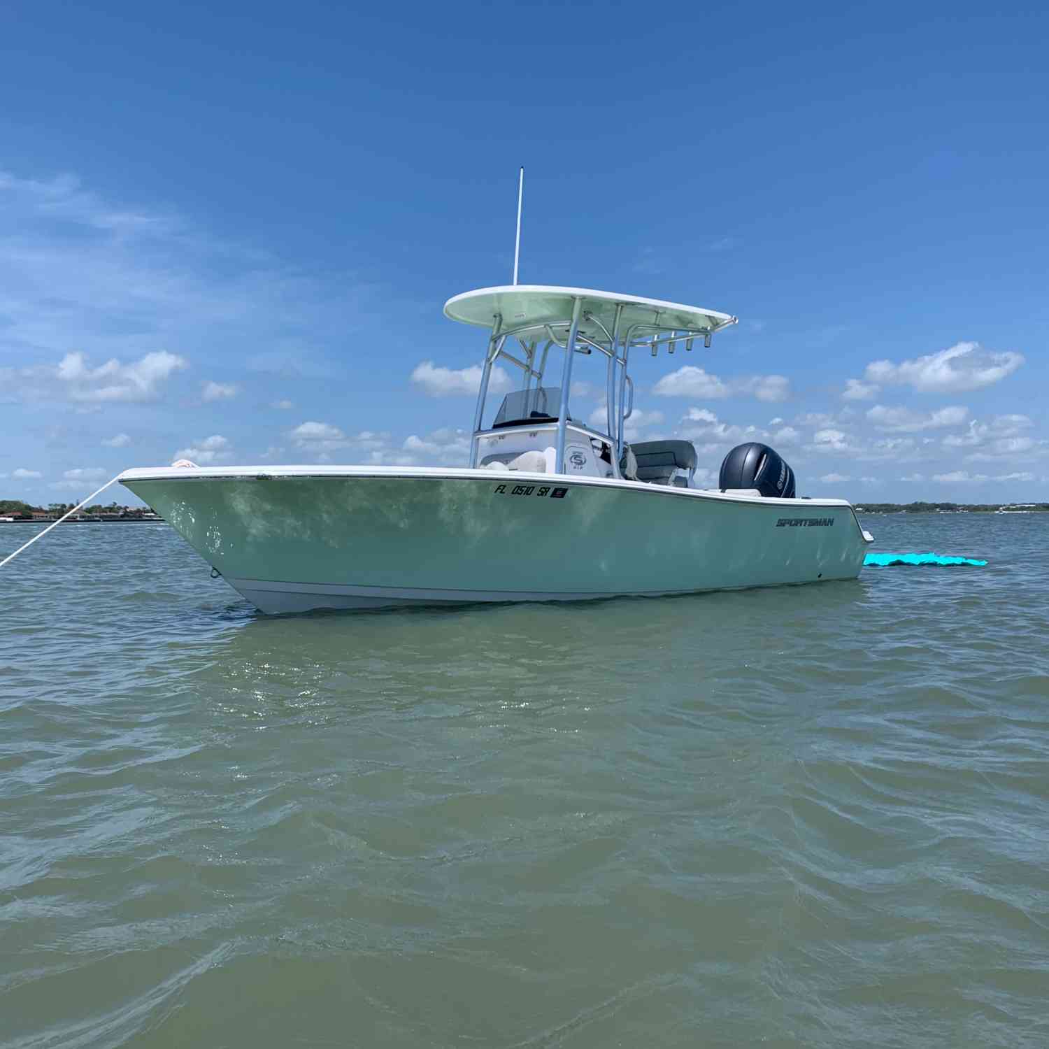 Title: Beach time - On board their Sportsman Open 212 Center Console - Location: St Augustine do. Participating in the Photo Contest #SportsmanJune2020