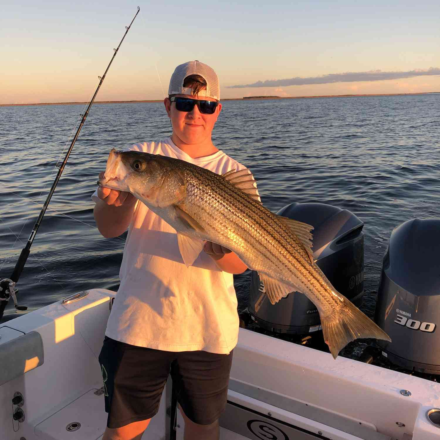 Title: Fishing - On board their Sportsman Open 282 Center Console - Location: Mayo, MD. Participating in the Photo Contest #SportsmanJune2020
