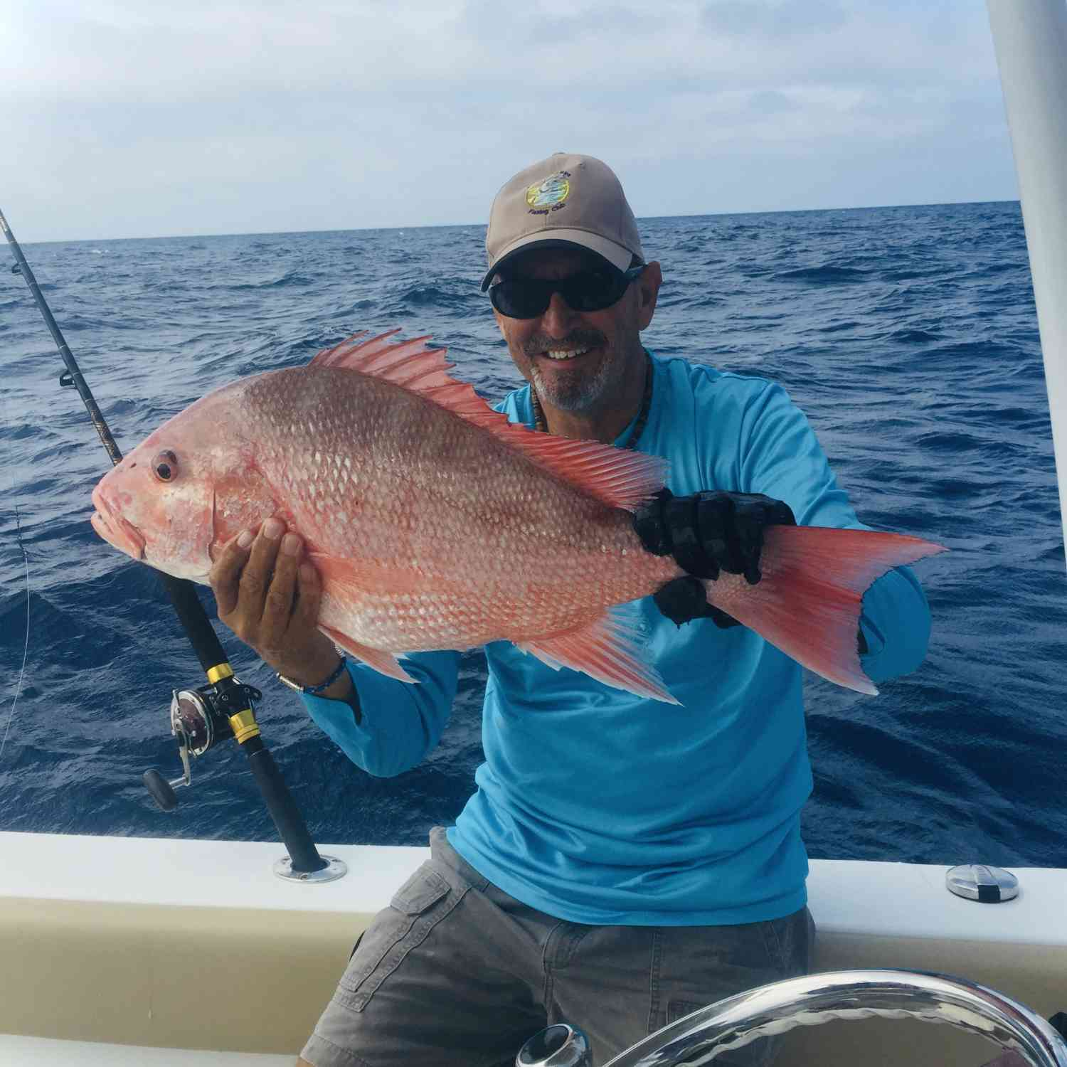 Title: Early Red Snapper - On board their Sportsman Heritage 251 Center Console - Location: Gulf of Mexico off Boca Grande. Participating in the Photo Contest #SportsmanJune2020