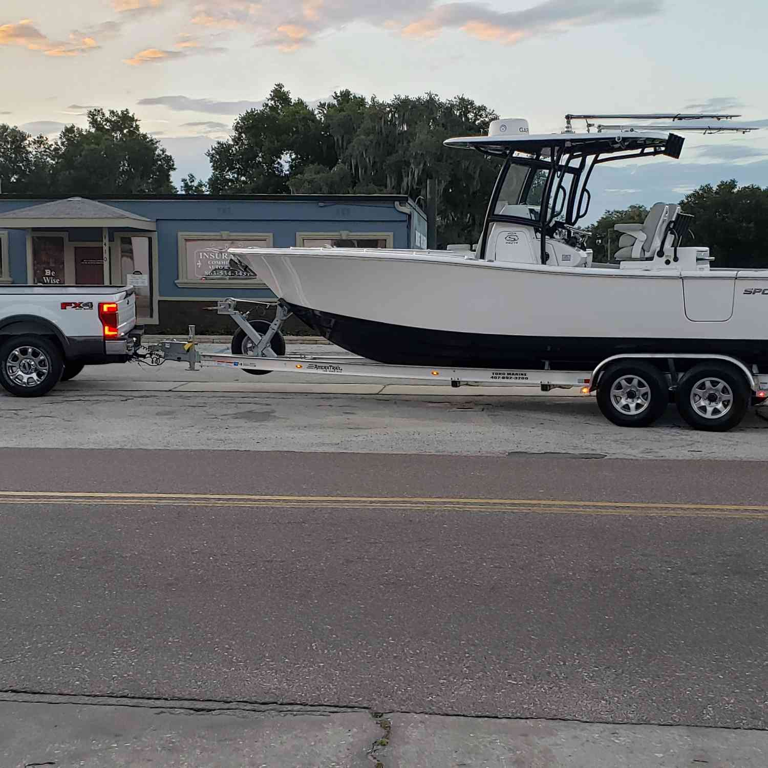 Title: Bringing home the new baby - On board their Sportsman Open 282TE Center Console - Location: Bartow florida. Participating in the Photo Contest #SportsmanJune2020