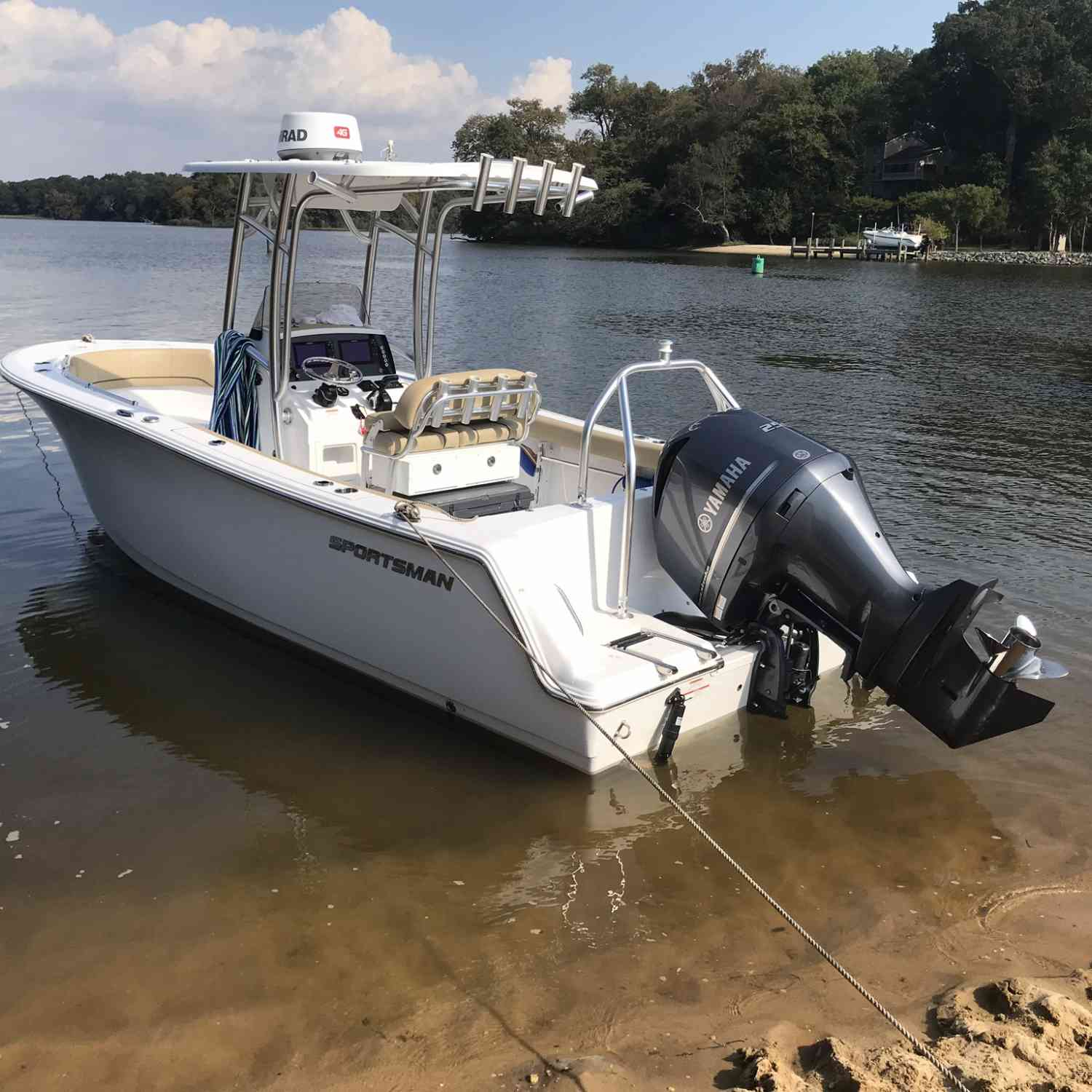 Title: Can't wait for summer - On board their Sportsman Heritage 231 Center Console - Location: Still Pond MD. Participating in the Photo Contest #SportsmanMay2020