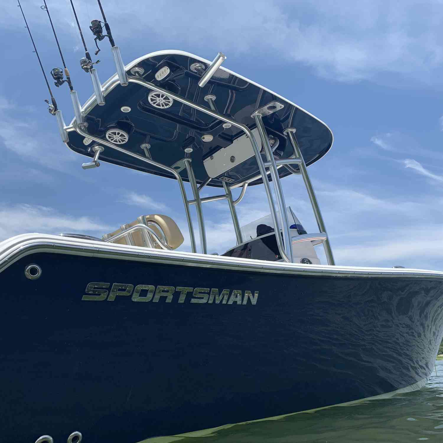 Title: Fish Eye View - On board their Sportsman Open 212 Center Console - Location: Charleston, SC. Participating in the Photo Contest #SportsmanMay2020