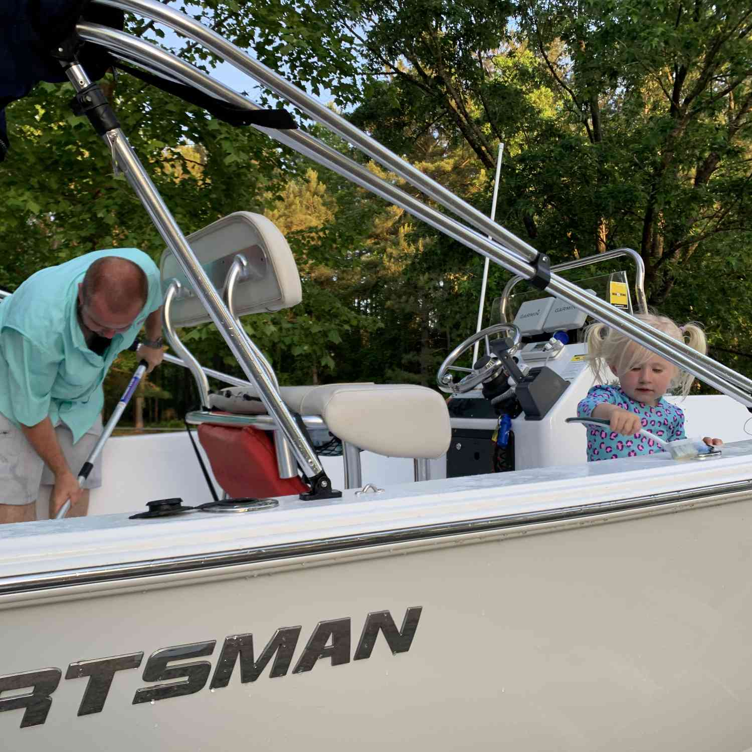 Title: IR 19 - On board their Sportsman Island Reef 19 Center Console - Location: Florence, SC. Participating in the Photo Contest #SportsmanMay2020