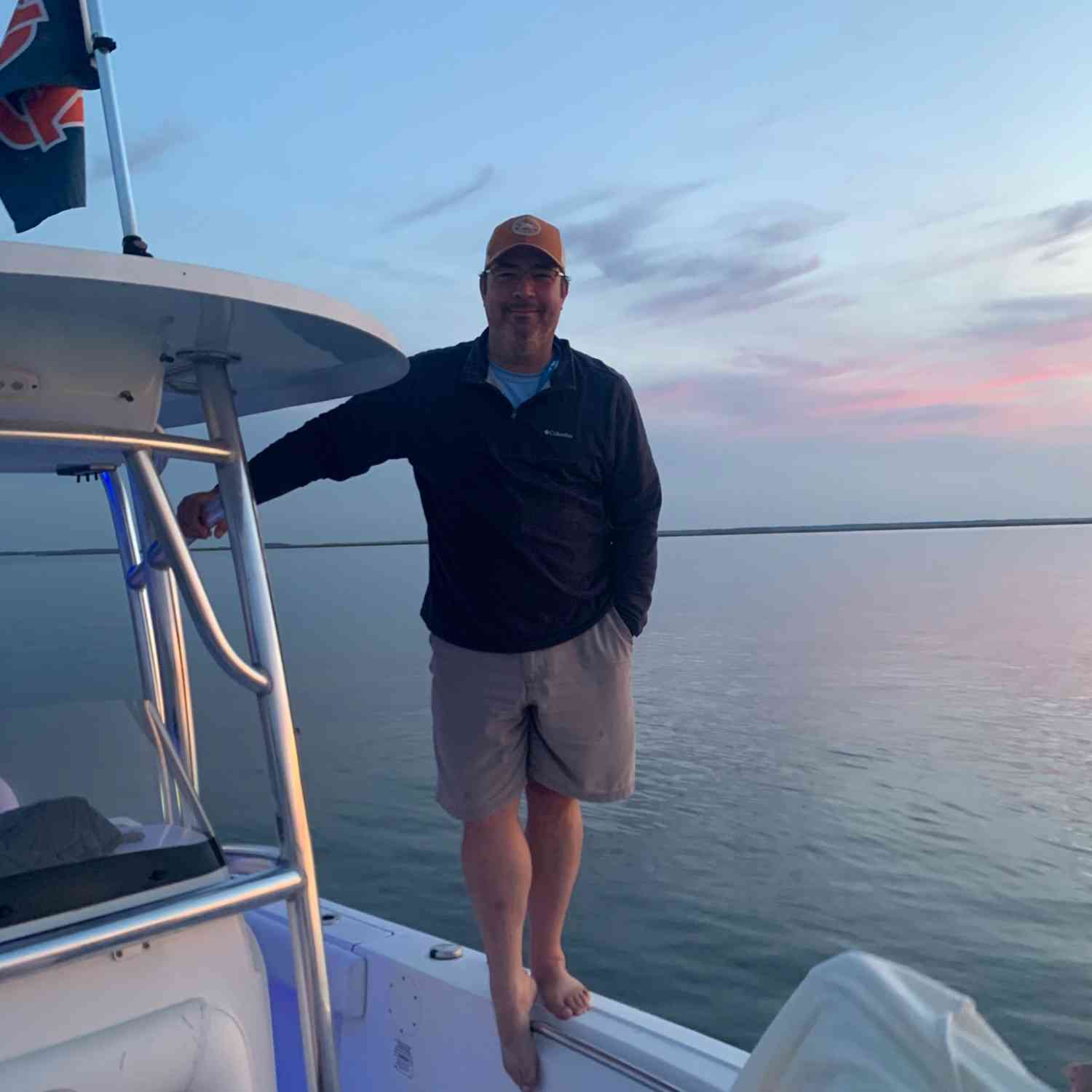 Title: Green Island Sound at Sunset - On board their Sportsman Heritage 211 Center Console - Location: Green Island Sound, Savannah, Georgia. Participating in the Photo Contest #SportsmanMay2020