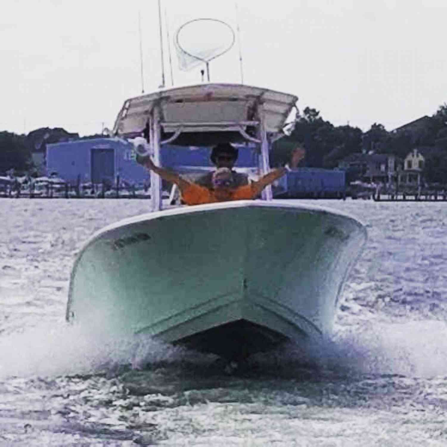 Title: Cruising! - On board their Sportsman Open 212 Center Console - Location: Ocean City NJ. Participating in the Photo Contest #SportsmanMay2020
