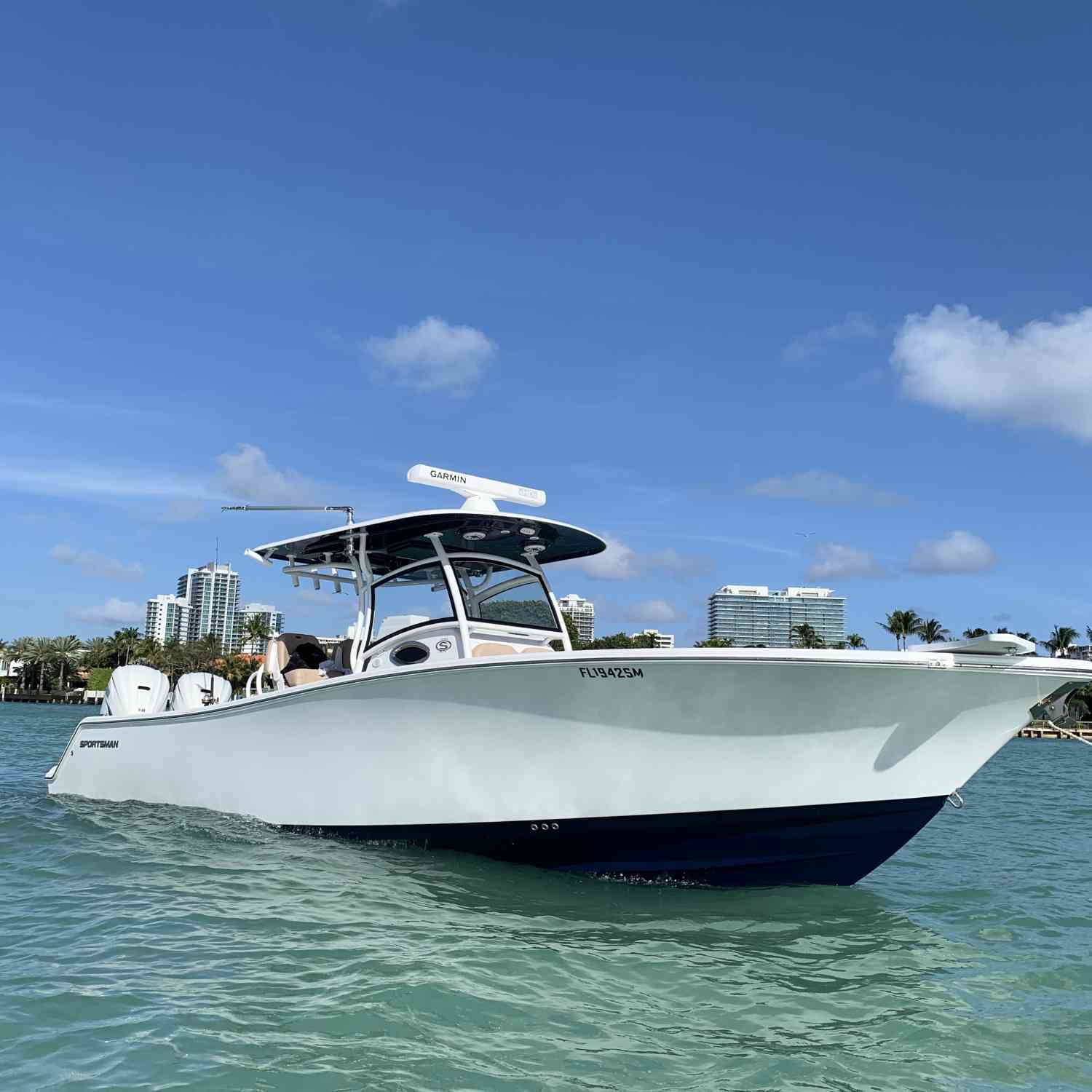Title: Winky face ? - On board their Sportsman Open 312 Center Console - Location: Miami, FL. Participating in the Photo Contest #SportsmanMay2020