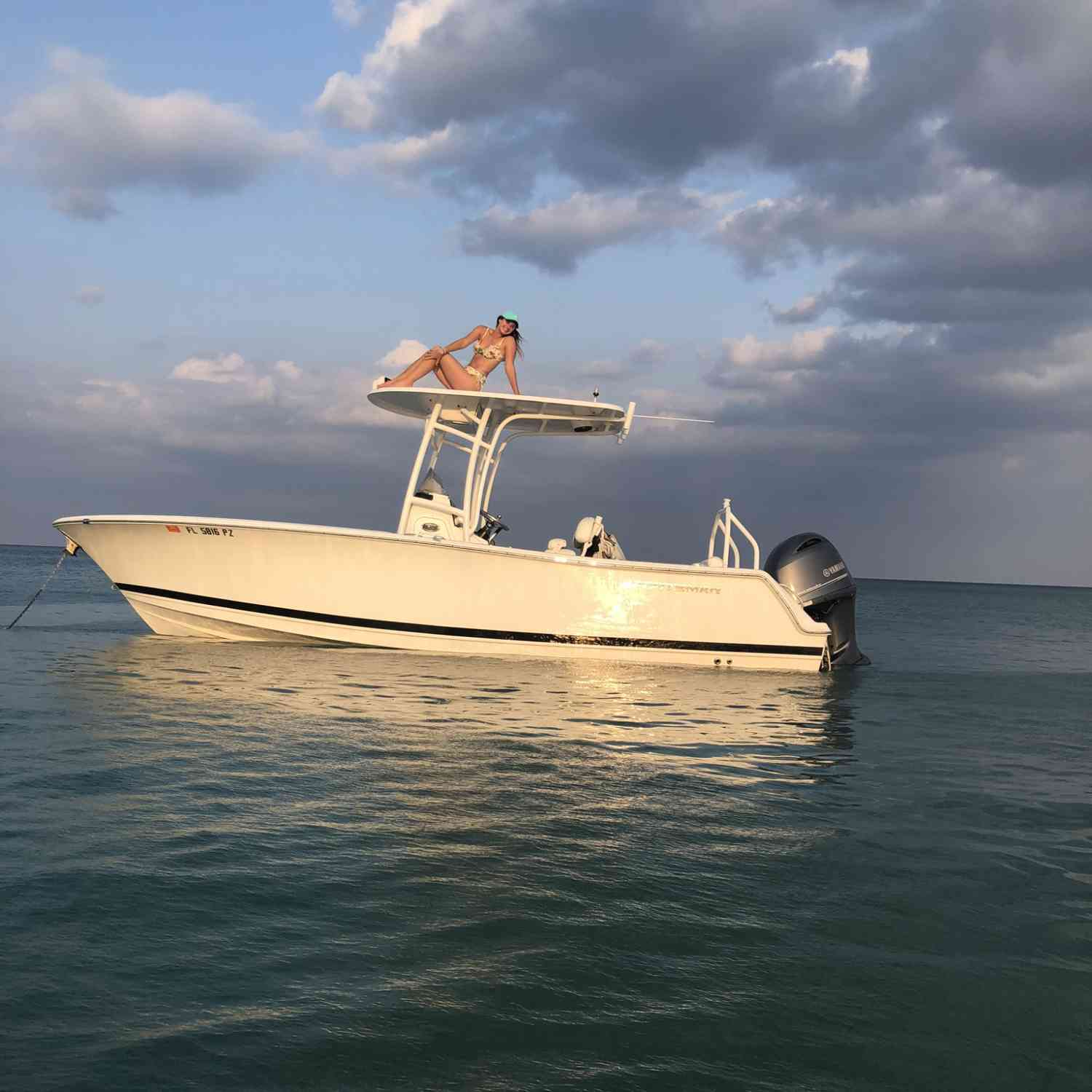 Title: Quarantine Daze - On board their Sportsman Heritage 231 Center Console - Location: Palm Beach. Participating in the Photo Contest #SportsmanMay2020