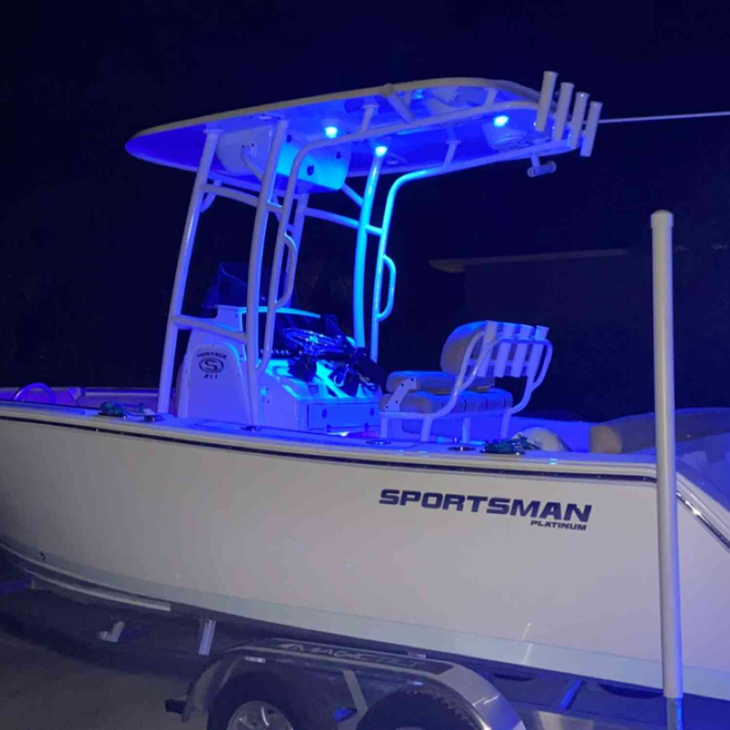 Title: Midnight Blues - On board their Sportsman Heritage 211 Center Console - Location: Skidaway Island, Ga. Participating in the Photo Contest #SportsmanMay2020