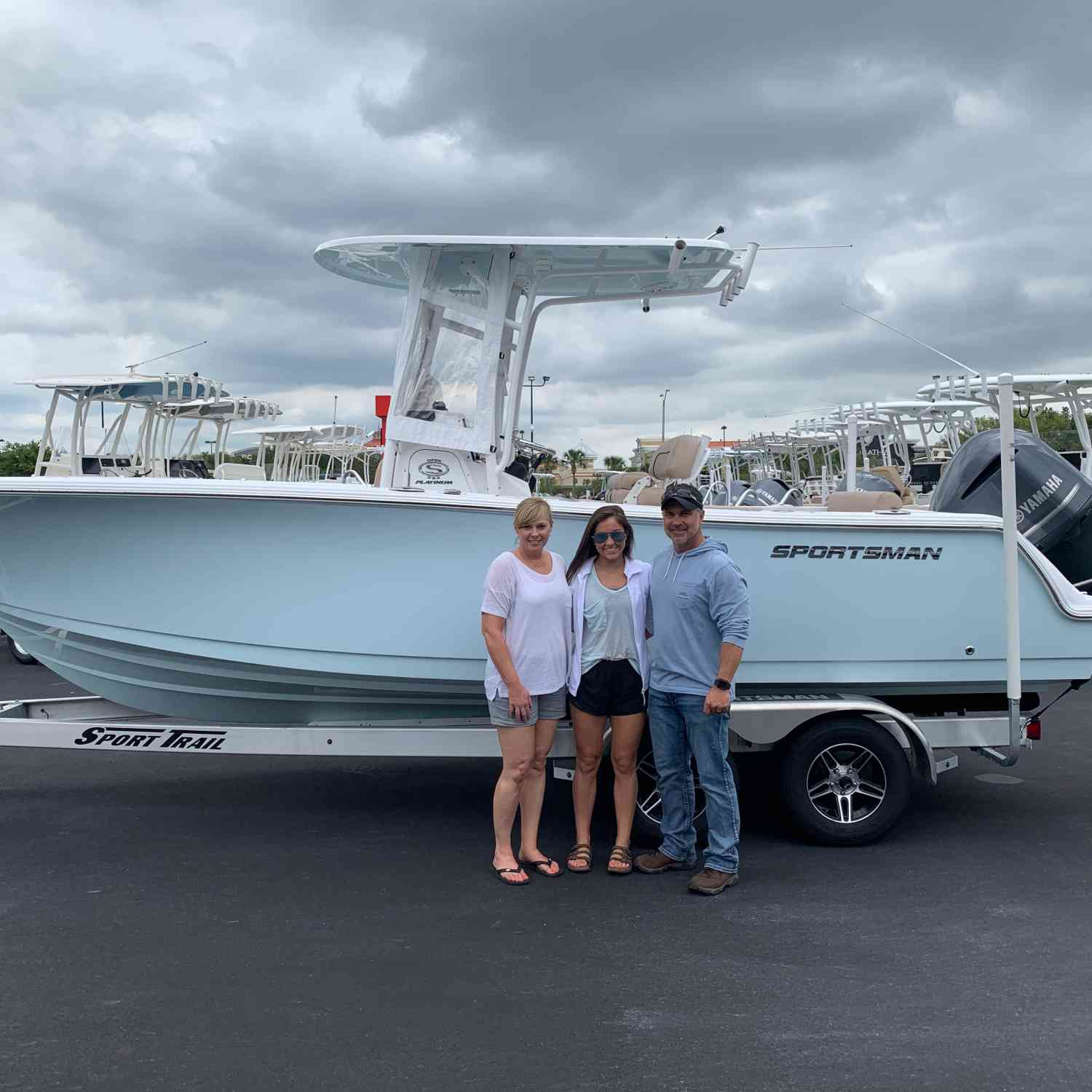 Title: Sold!!! - On board their Sportsman Open 232 Center Console - Location: Gulf Shores, Al. Participating in the Photo Contest #SportsmanMay2020