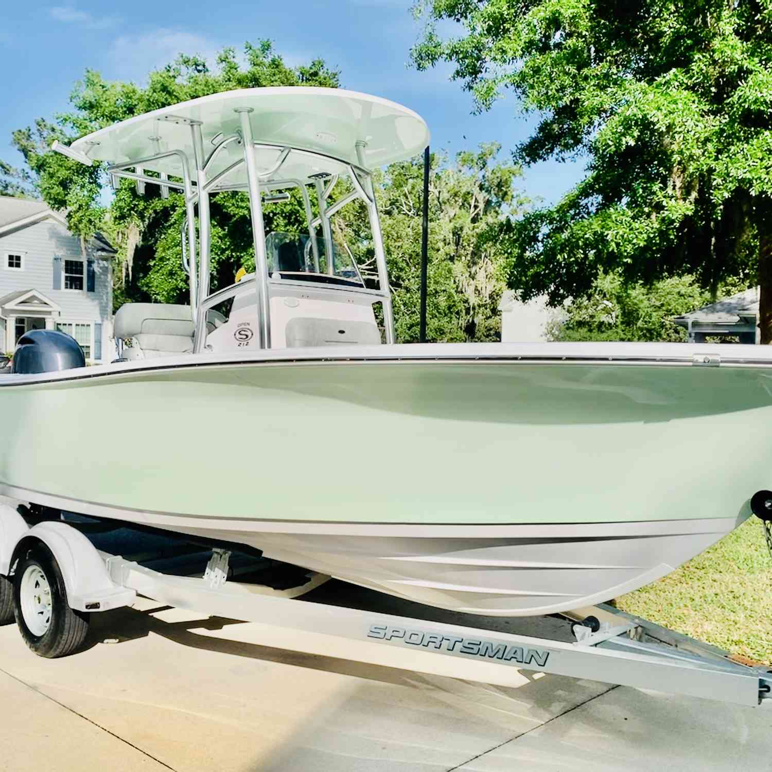 Title: AQUAHOLIC - On board their Sportsman Open 212 Center Console - Location: Jacksonville ,fl. Participating in the Photo Contest #SportsmanMay2020
