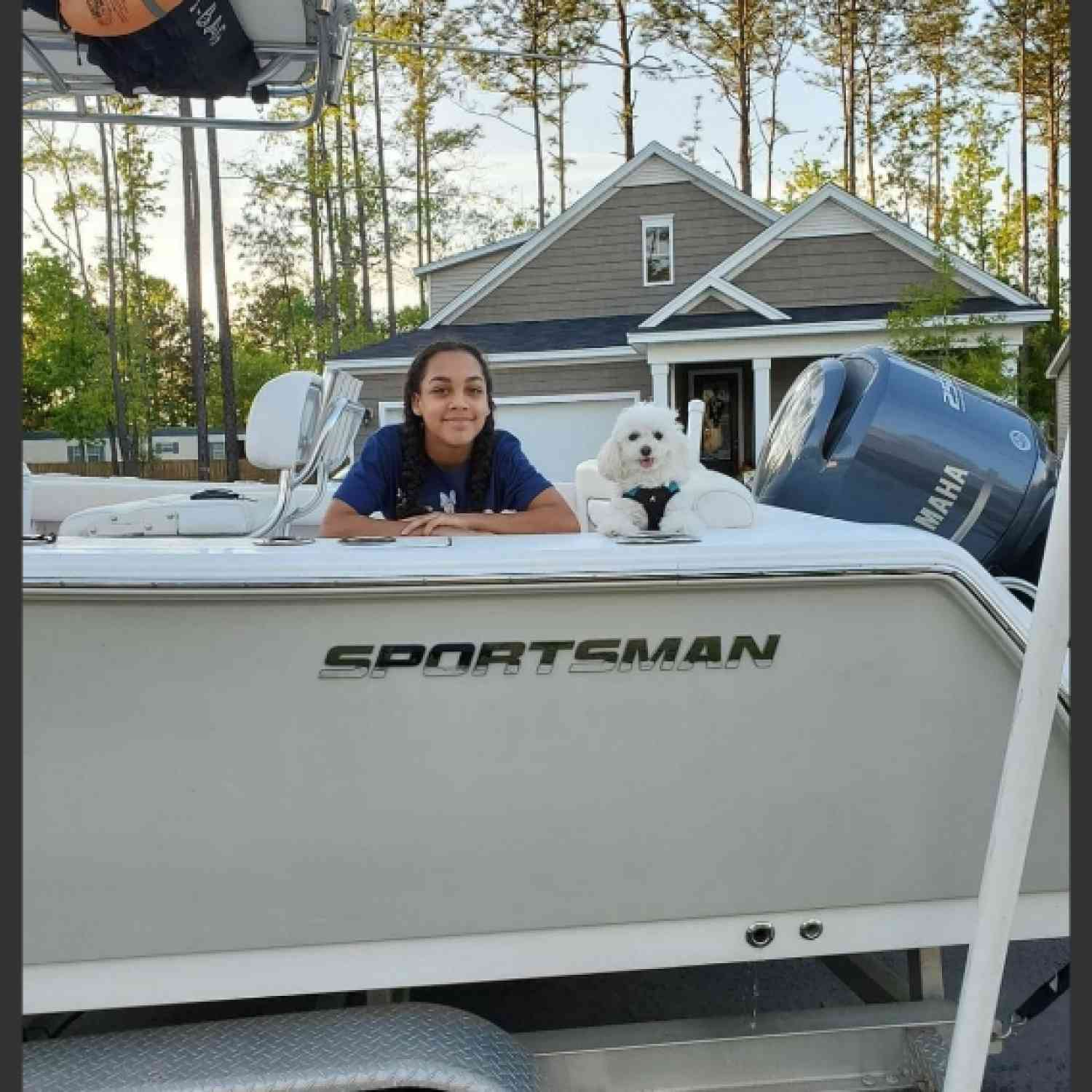 Title: A couple of youngins ready to ride! - On board their Sportsman Heritage 231 Center Console - Location: Summerville, sc. Participating in the Photo Contest #SportsmanMay2020