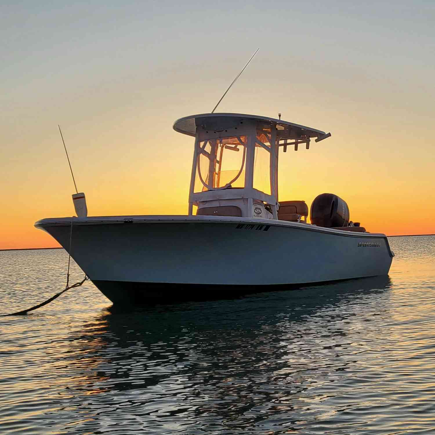 Title: Early Morning Arrival - On board their Sportsman Heritage 211 Center Console - Location: Duxbury, MA. Participating in the Photo Contest #SportsmanMay2020