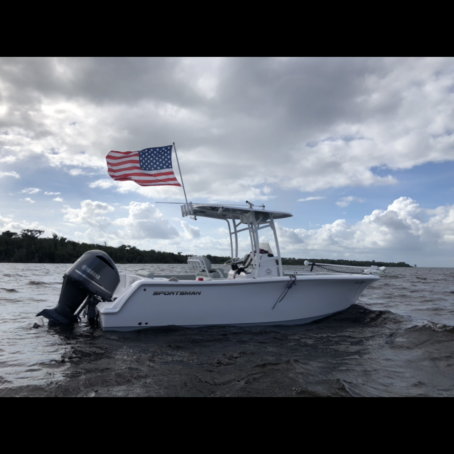 Title: Freedom of summertime! - On board their Sportsman Open 232 Center Console - Location: Lake George, Florida. Participating in the Photo Contest #SportsmanOctober2020
