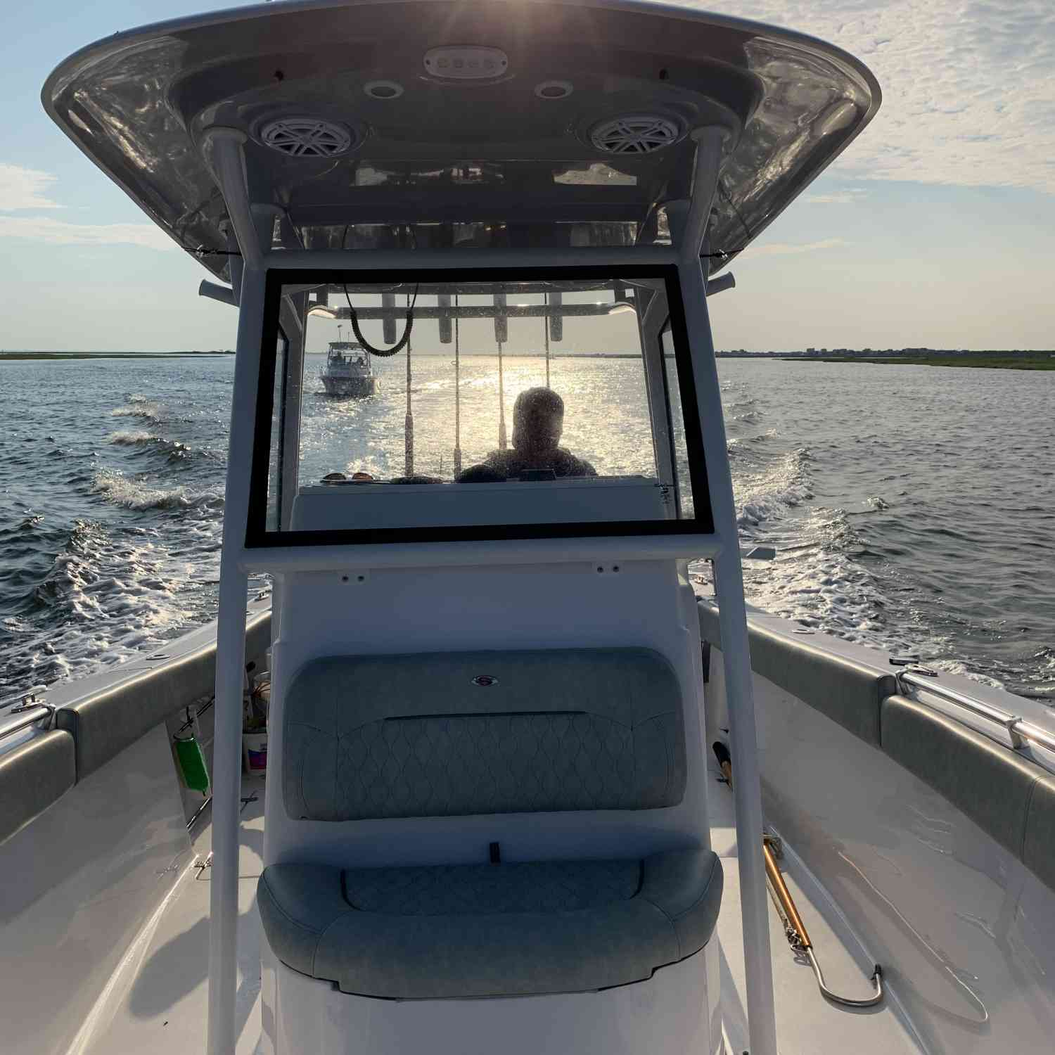 Title: The adventure boys - On board their Sportsman Open 252 Center Console - Location: Long Island ny. Participating in the Photo Contest #SportsmanSeptember2020