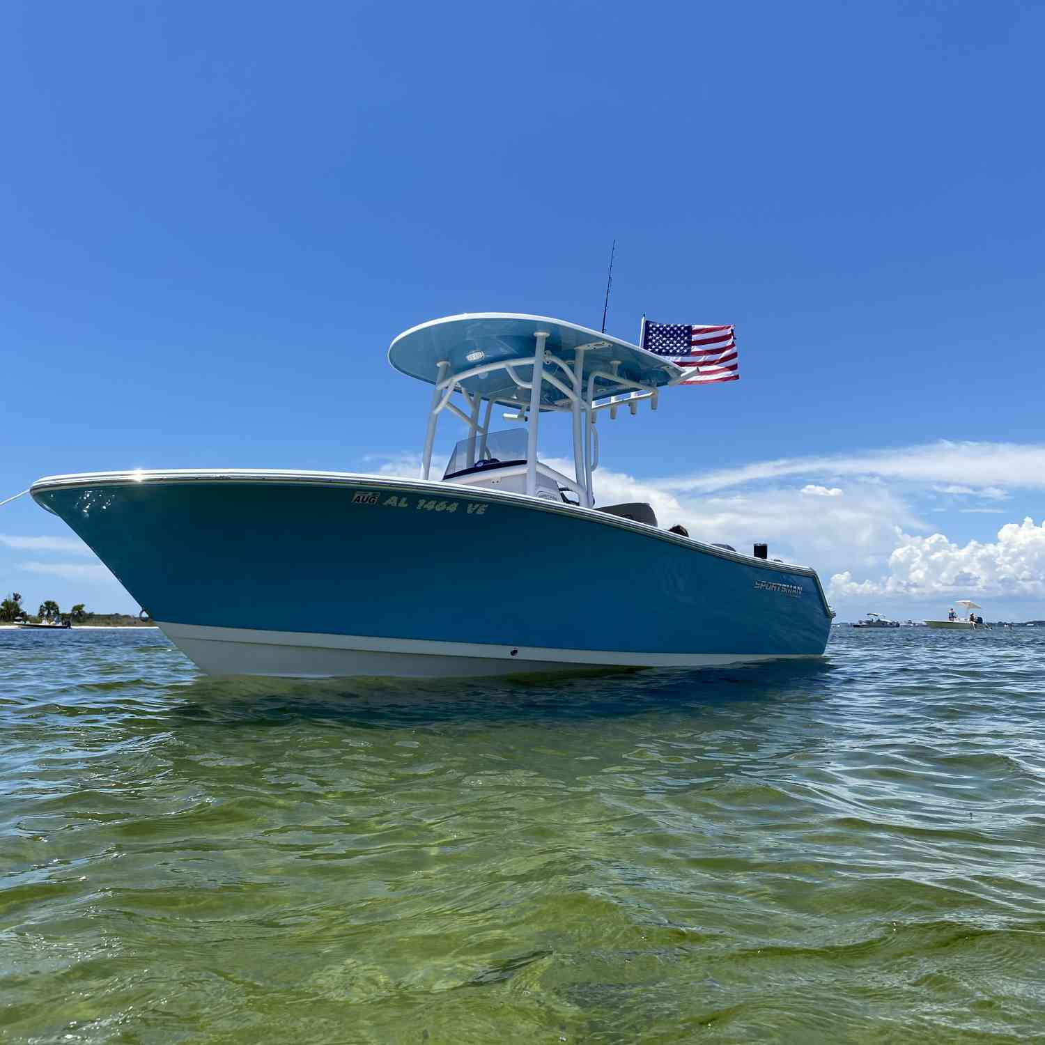 Title: Feeling Salty - On board their Sportsman Heritage 211 Center Console - Location: Panama City Beach. Participating in the Photo Contest #SportsmanSeptember2020