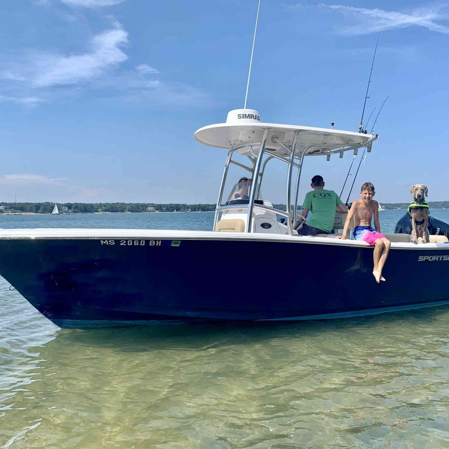 Title: Baydreamin' - On board their Sportsman Heritage 231 Center Console - Location: Pleasant Bay, Chatham, MA. Participating in the Photo Contest #SportsmanSeptember2020