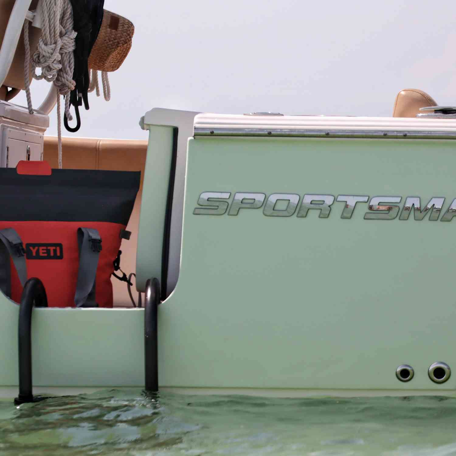 Title: Port Cooler - On board their Sportsman Open 282 Center Console - Location: Keywaadin Island. Participating in the Photo Contest #SportsmanSeptember2020