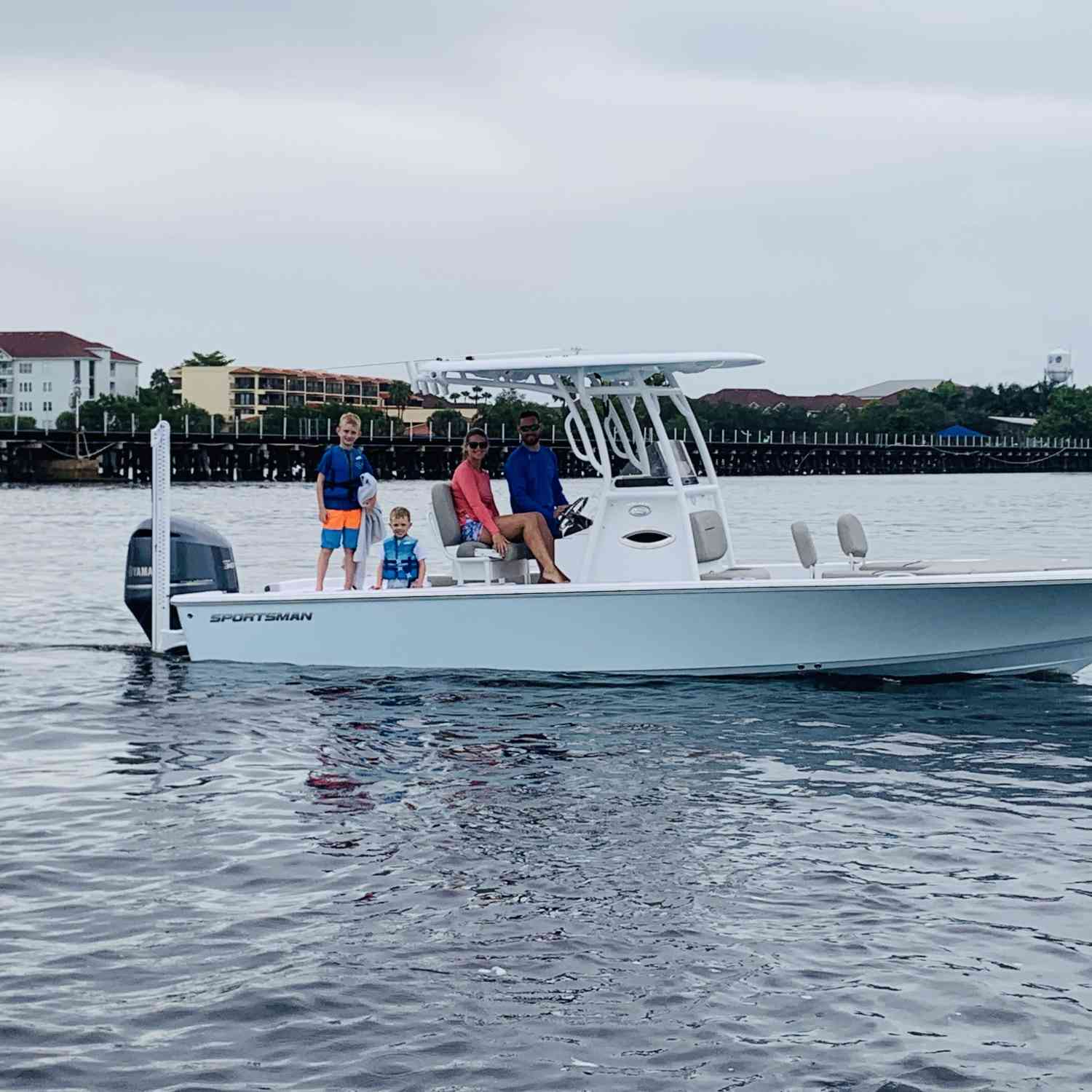Title: New 2021 Sportman - On board their Sportsman Masters 247 Bay Boat - Location: Bradenton, Fl. Participating in the Photo Contest #SportsmanSeptember2020