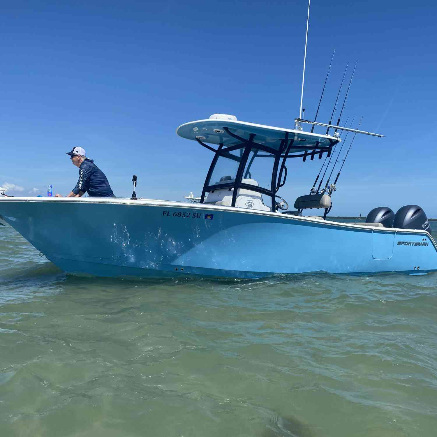 Title: 252 sitting pretty - On board their Sportsman Open 252 Center Console - Location: Sebastian Inlet. Participating in the Photo Contest #SportsmanApril2021