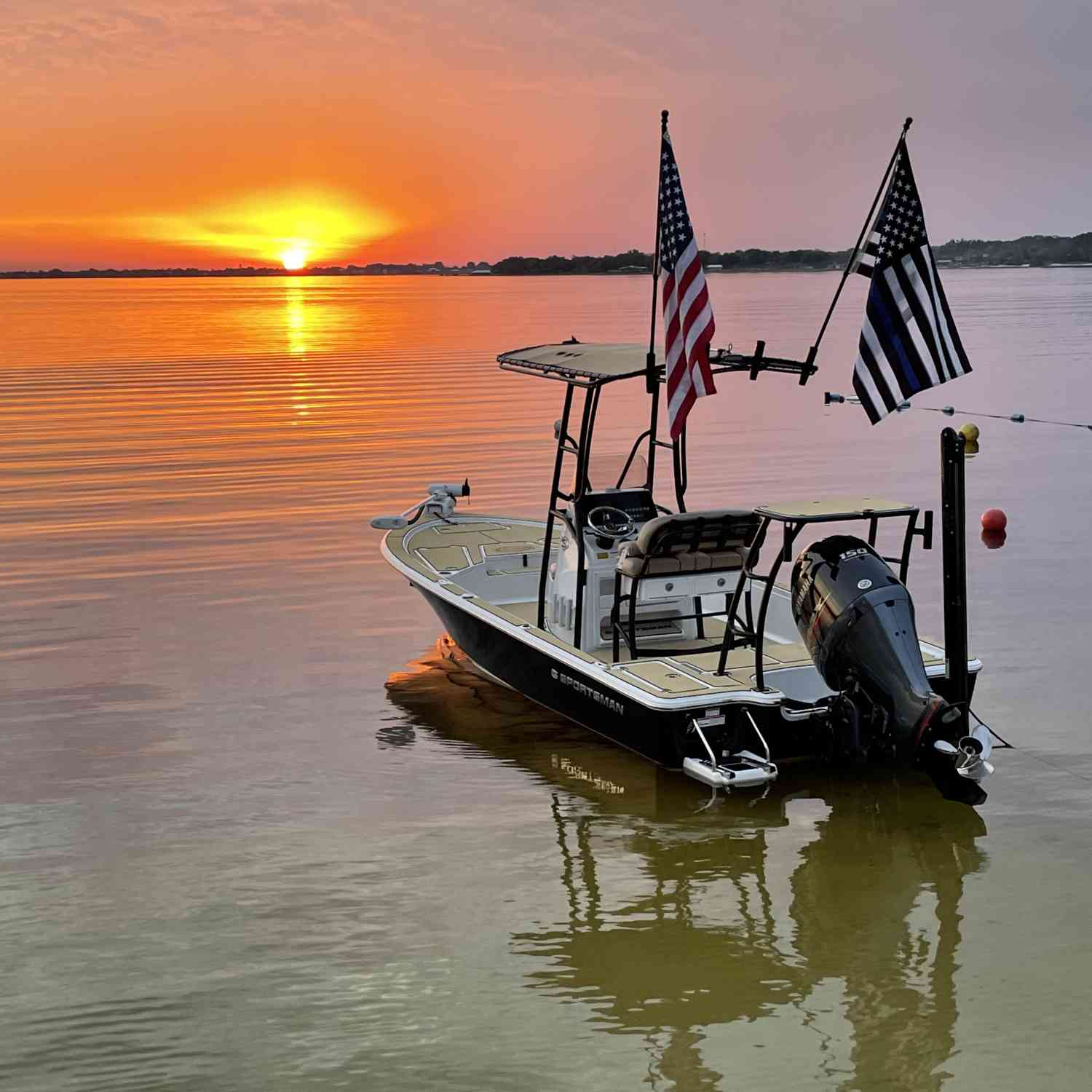 Not sure what is more beautiful the sunset or the boat.