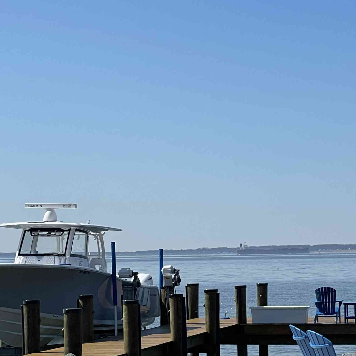 Title: Simply a pleasure - On board their Sportsman Open 352 Center Console - Location: Kent Island, MD. Participating in the Photo Contest #SportsmanApril2021