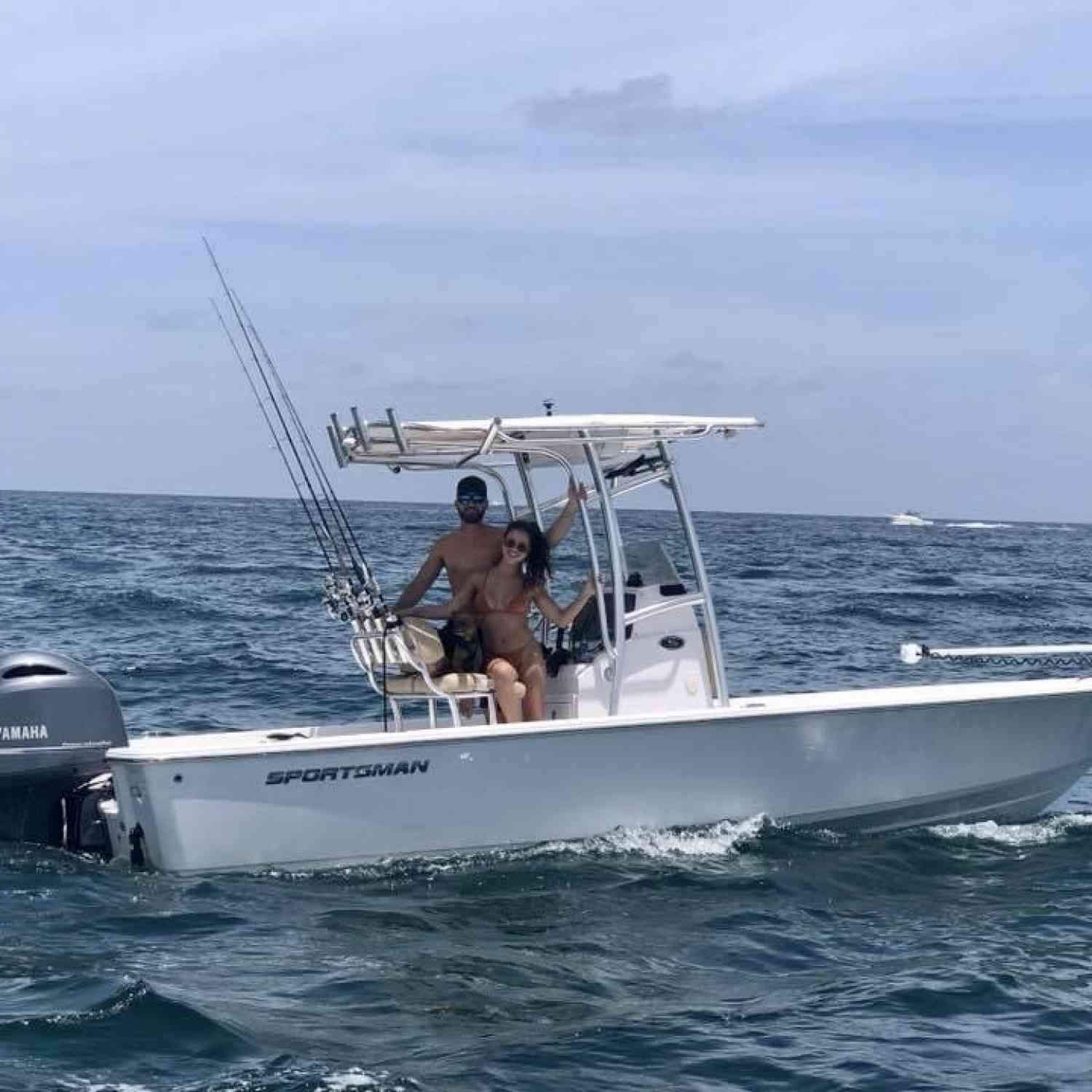 Title: Freedom - On board their Sportsman Masters 227 Bay Boat - Location: Ft. Lauderdale, Fl. Participating in the Photo Contest #SportsmanFebruary2021