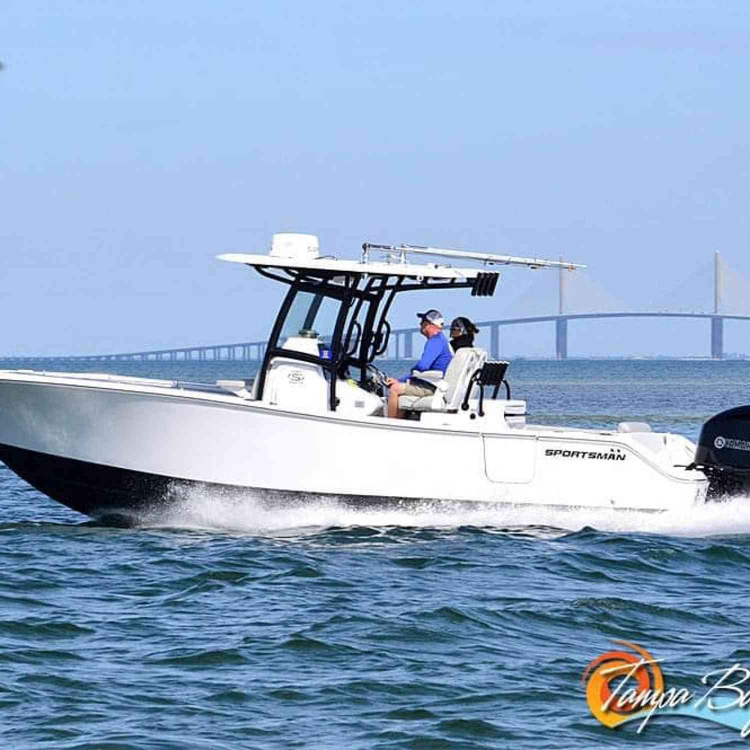 Title: florida winter time boating - On board their Sportsman Open 282TE Center Console - Location: anna maria island florida. Participating in the Photo Contest #SportsmanFebruary2021