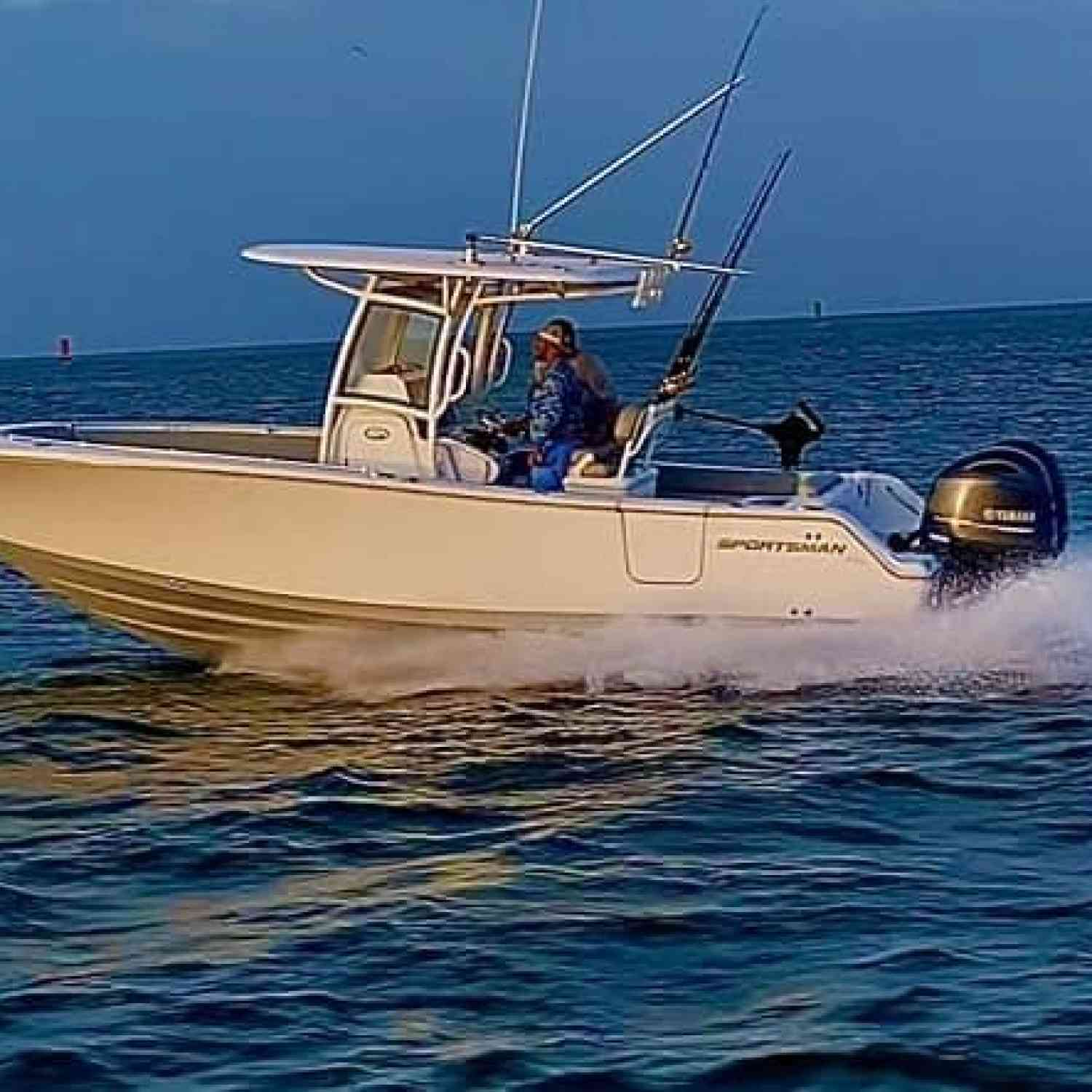 Title: King mackerel tournament - On board their Sportsman Open 252 Center Console - Location: Morehead city NC. Participating in the Photo Contest #SportsmanFebruary2021