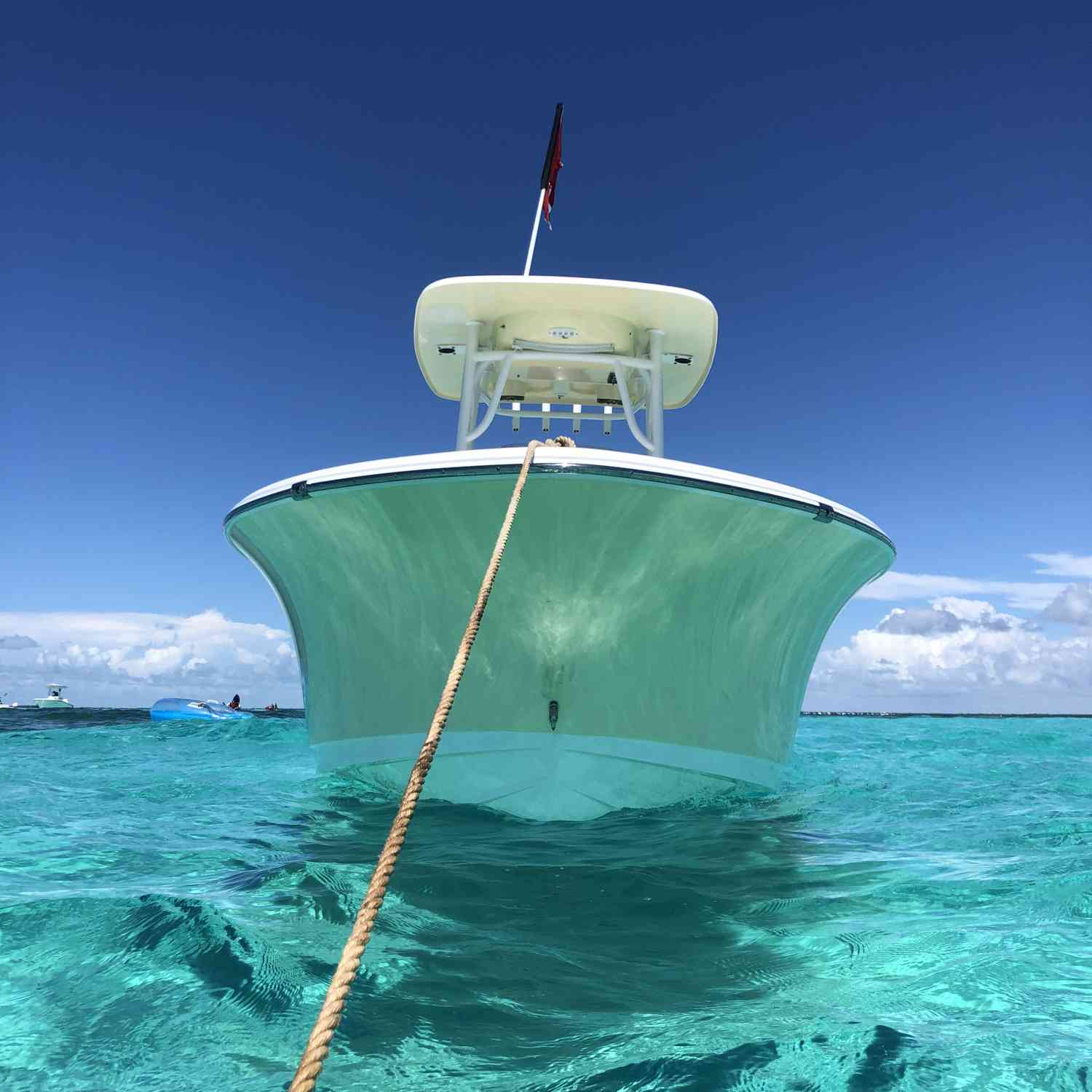 Title: Crystal Clear - On board their Sportsman Heritage 231 Center Console - Location: Key largo FL. Participating in the Photo Contest #SportsmanFebruary2021