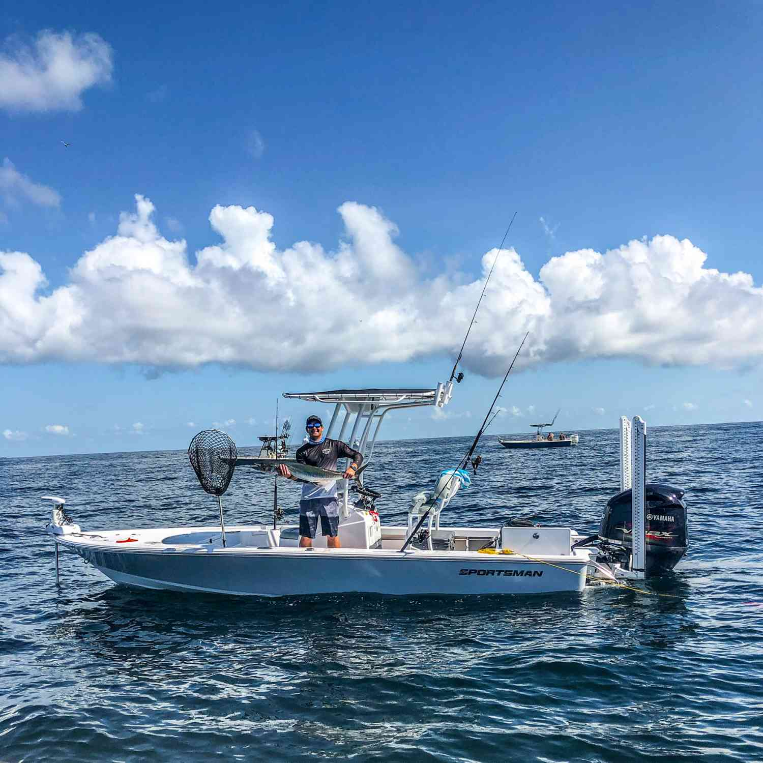 Title: 214T at the Nearshore - On board their Sportsman Tournament 214 Bay Boat - Location: Charleston, SC. Participating in the Photo Contest #SportsmanJanuary2021
