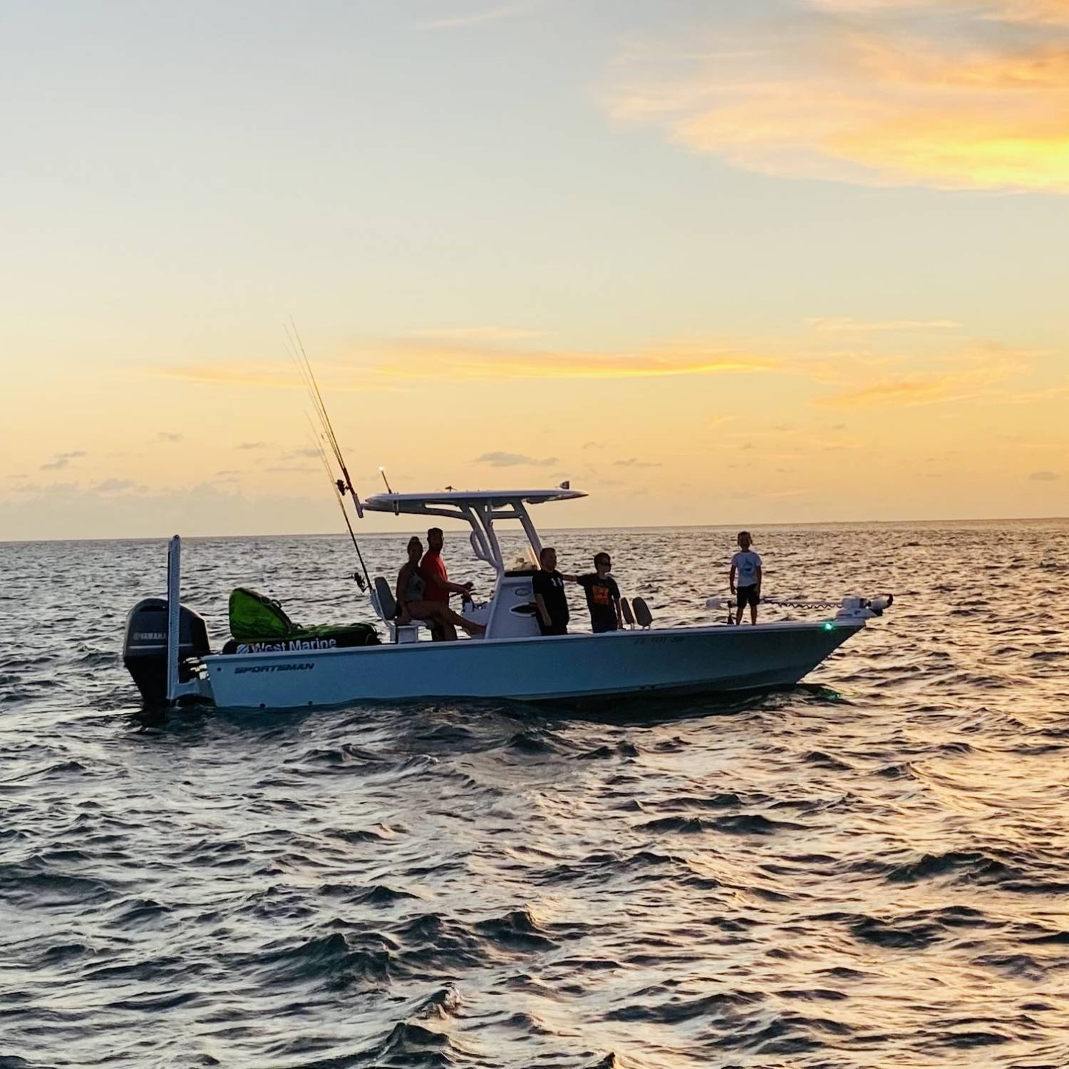 Title: Sunsets - On board their Sportsman Masters 247 Bay Boat - Location: Marathon, Fl. Participating in the Photo Contest #SportsmanJuly2021